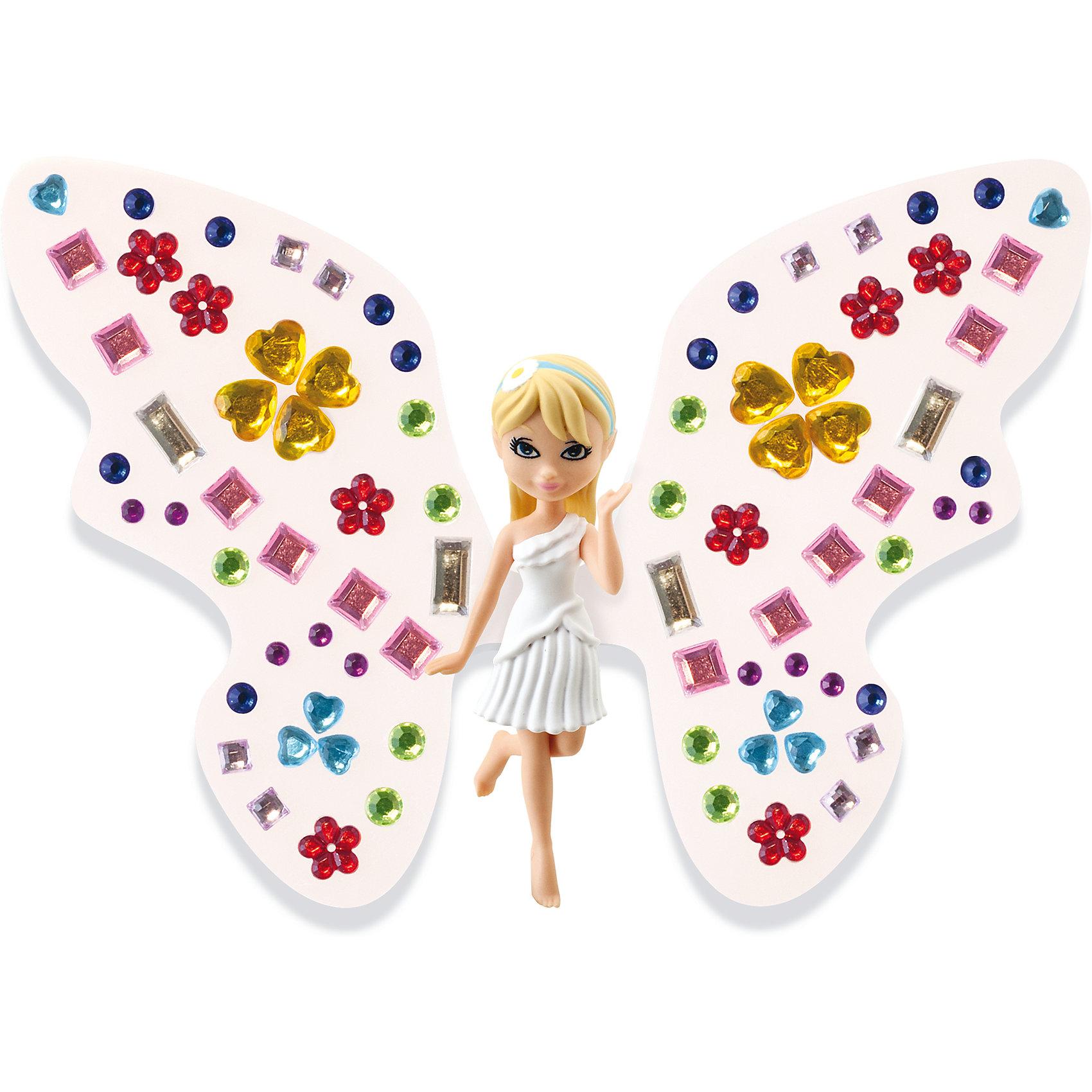 Игровой набор Фея Дейзи, Shimmer WingМини-куклы<br>Собирай фей и питомцев, декорируй им крылья различными способами, и любуйся!<br>В набор входит -фея, питомец, подставка для феи, крылья для феи и для питомца, аксессуары для декорирования крыльев.<br><br>Ширина мм: 90<br>Глубина мм: 200<br>Высота мм: 210<br>Вес г: 141<br>Возраст от месяцев: 60<br>Возраст до месяцев: 2147483647<br>Пол: Женский<br>Возраст: Детский<br>SKU: 5478830