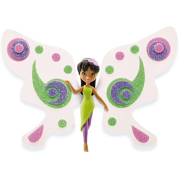 Игровой набор Фея Лили, Shimmer WingНаборы стилиста и дизайнера<br>Характеристики товара:<br><br>• возраст: от 5 лет;<br>• материал: пластик;<br>• в комплекте: кукла, подставка для куклы, крылья, 3 листа наклеек, питомец, крылья для питомца;<br>• размер упаковки: 21х20х8 см;<br>• вес упаковки: 136 гр.;<br>• страна производитель: Китай.<br><br>Игровой набор «Фея Лили» Shimmer Wing включает в себя очаровательную фею Лили и ее питомца. Лили одета в зеленое платье и фиолетовые леггинсы. На голове у нее ободок с цветочком. <br><br>Дополнят образ феи яркие крылышки, которые девочке предстоит украсить самой с помощью блестящих наклеек, проявив фантазию и воображение. <br><br>Игровой набор «Фея Лили» Shimmer Wing можно приобрести в нашем интернет-магазине.<br>Ширина мм: 90; Глубина мм: 200; Высота мм: 210; Вес г: 141; Возраст от месяцев: 60; Возраст до месяцев: 2147483647; Пол: Женский; Возраст: Детский; SKU: 5478831;