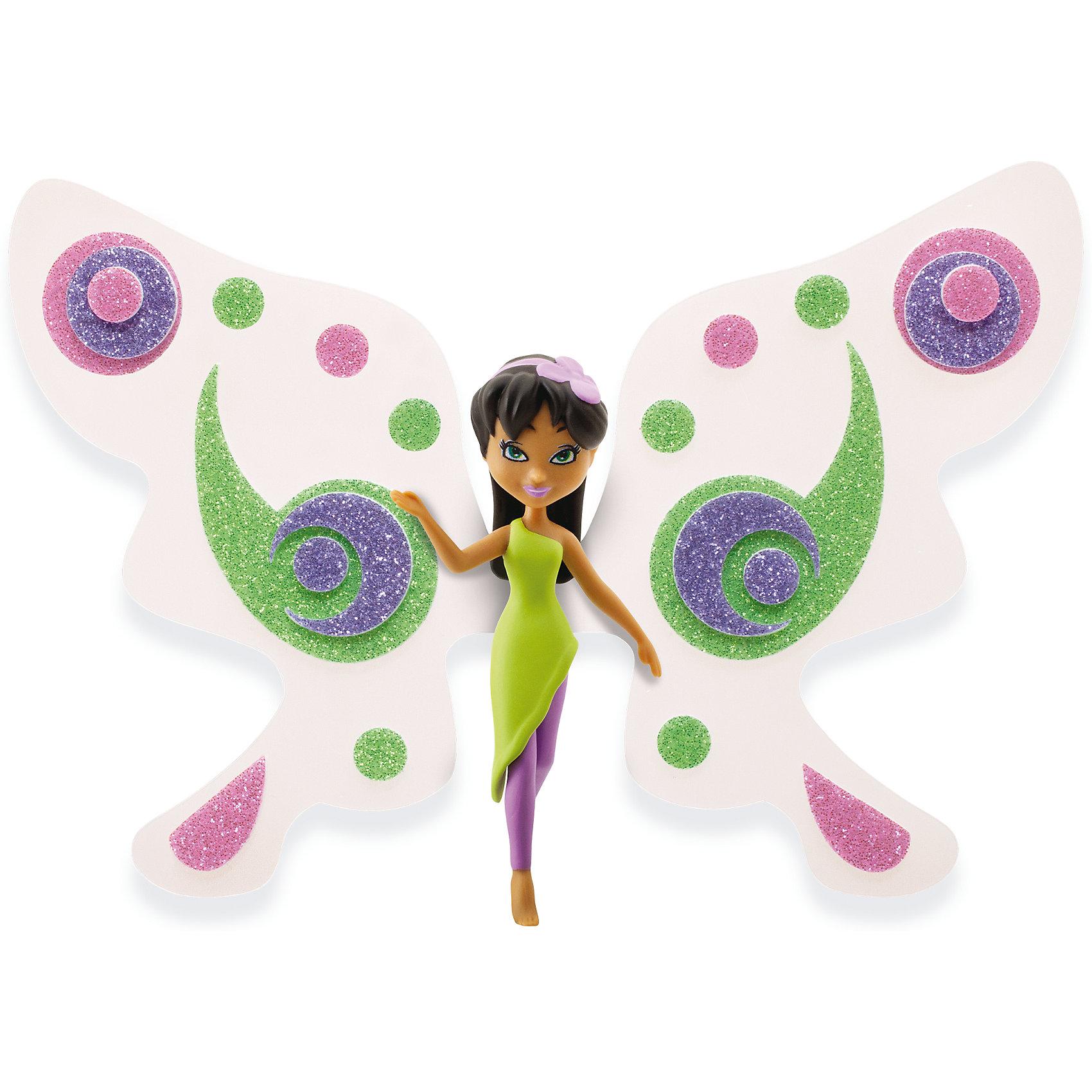 Игровой набор Фея Лили, Shimmer WingНаборы стилиста и дизайнера<br>Характеристики товара:<br><br>• возраст: от 5 лет;<br>• материал: пластик;<br>• в комплекте: кукла, подставка для куклы, крылья, 3 листа наклеек, питомец, крылья для питомца;<br>• размер упаковки: 21х20х8 см;<br>• вес упаковки: 136 гр.;<br>• страна производитель: Китай.<br><br>Игровой набор «Фея Лили» Shimmer Wing включает в себя очаровательную фею Лили и ее питомца. Лили одета в зеленое платье и фиолетовые леггинсы. На голове у нее ободок с цветочком. <br><br>Дополнят образ феи яркие крылышки, которые девочке предстоит украсить самой с помощью блестящих наклеек, проявив фантазию и воображение. <br><br>Игровой набор «Фея Лили» Shimmer Wing можно приобрести в нашем интернет-магазине.<br><br>Ширина мм: 90<br>Глубина мм: 200<br>Высота мм: 210<br>Вес г: 141<br>Возраст от месяцев: 60<br>Возраст до месяцев: 2147483647<br>Пол: Женский<br>Возраст: Детский<br>SKU: 5478831