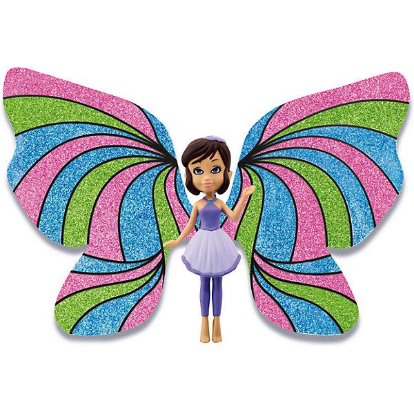 Игровой набор Фея Фиалка, Shimmer WingНаборы стилиста и дизайнера<br>Характеристики товара:<br><br>• возраст: от 5 лет;<br>• материал: пластик;<br>• в комплекте: кукла, подставка для куклы, крылья, 3 тюбика с блестками, питомец, крылья для питомца;<br>• размер упаковки: 21х20х8 см;<br>• вес упаковки: 136 гр.;<br>• страна производитель: Китай.<br><br>Игровой набор «Фея Фиалка» Shimmer Wing включает в себя очаровательную фею Снежинку и ее питомца. Одета Фиалка в фиолетовое платье и леггинсы.<br><br>Дополнят образ феи яркие крылышки, которые девочке предстоит украсить самой с помощью блесток, проявив фантазию и воображение. <br><br>Игровой набор «Фея Фиалка» Shimmer Wing можно приобрести в нашем интернет-магазине.<br>Ширина мм: 90; Глубина мм: 200; Высота мм: 210; Вес г: 141; Возраст от месяцев: 60; Возраст до месяцев: 2147483647; Пол: Женский; Возраст: Детский; SKU: 5478834;