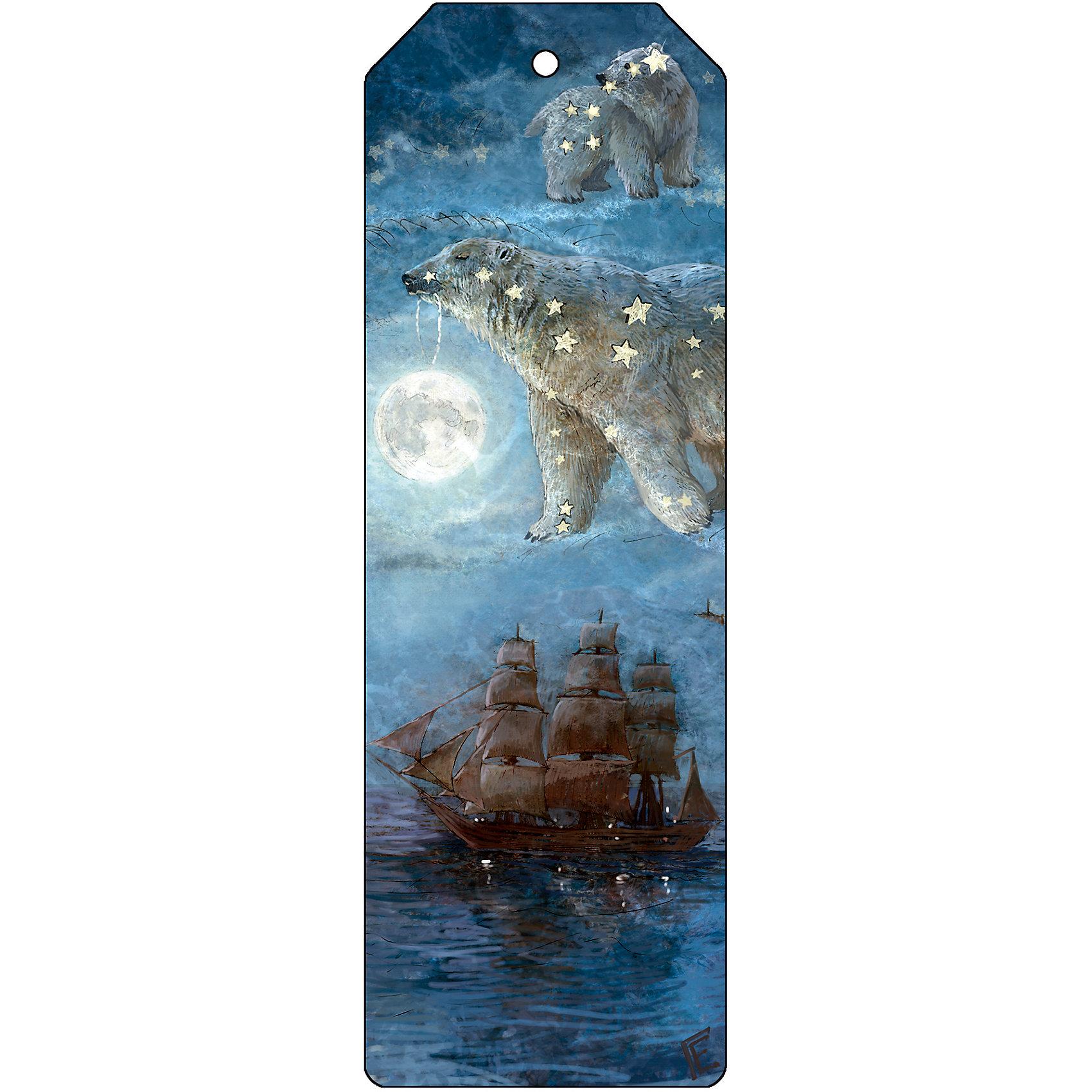 Закладка для книг декоративная Большая медведицаШкольные аксессуары<br>Характеристики декоративной закладки для книг Большая медведица:<br><br>• тип: закладка<br>• материал: металл<br>• длина:15 см<br>• размеры: 19 x 6 x 0.5 см <br>• упаковка: пакет<br>• вес в упаковке, 45 г<br>• страна-изготовитель: Китай<br><br>Закладка декоративная Большая медведица размером 5x15 см выполнена из черного окрашенного металла с ярким оригинальным дизайном. Изделие не выскальзывает из книги, не мнется и не затирается со временем. Закладка поможет быстро отыскать нужную страницу, станет прекрасным подарком всем любителям книг.<br><br>Декоративную закладку для книг Большая медведица можно купить в нашем интернет-магазине.<br><br>Ширина мм: 150<br>Глубина мм: 50<br>Высота мм: 10<br>Вес г: 31<br>Возраст от месяцев: 48<br>Возраст до месяцев: 144<br>Пол: Унисекс<br>Возраст: Детский<br>SKU: 5479436