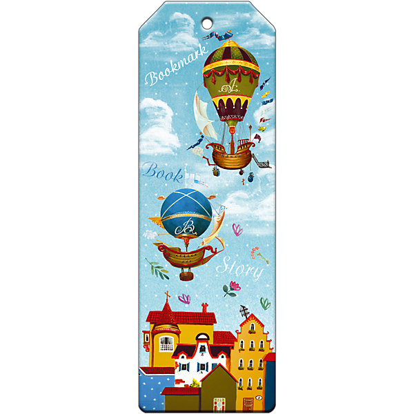 Закладка для книг декоративная Дирижабли в летоШкольные аксессуары<br>Характеристики декоративной закладки для книг Дирижабли в лето:<br><br>• тип: закладка<br>• материал: металл<br>• длина:15 см<br>• размеры: 19 x 6 x 0.5 см <br>• упаковка: пакет<br>• вес в упаковке, 45 г<br>• страна-изготовитель: Китай<br><br>Декоративная закладка Дирижабли в лето размером 5x15 см выполнена из черного окрашенного металла с ярким оригинальным дизайном в виде дирижаблей. Изделие не выскальзывает из книги, не мнется и не затирается со временем. Закладка поможет быстро отыскать нужную страницу, станет прекрасным подарком всем книголюбам.<br><br>Декоративную закладку для книг Дирижабли в лето можно купить в нашем интернет-магазине.<br>Ширина мм: 150; Глубина мм: 50; Высота мм: 10; Вес г: 31; Возраст от месяцев: 48; Возраст до месяцев: 144; Пол: Унисекс; Возраст: Детский; SKU: 5479444;