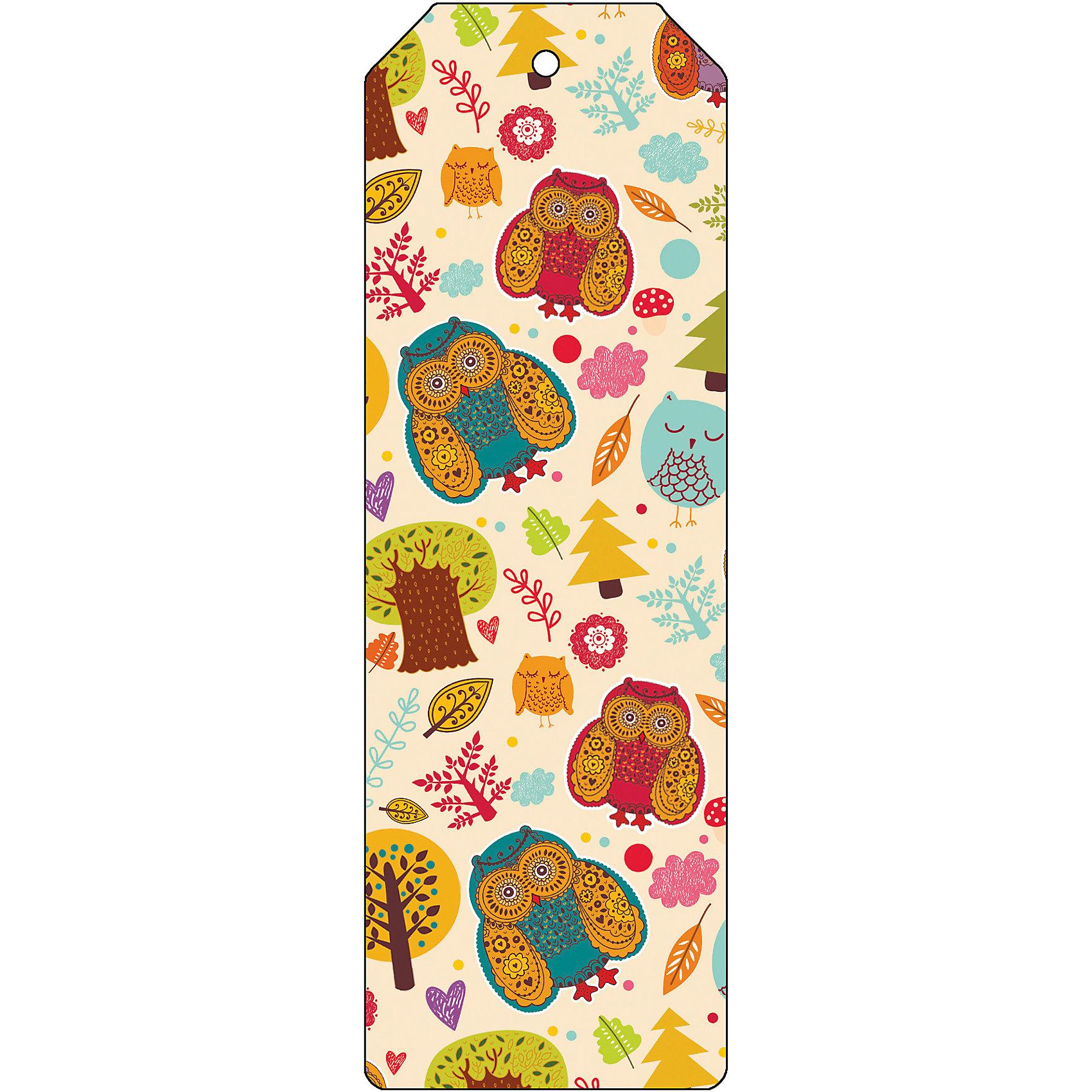 Закладка для книг декоративная СоваШкольные аксессуары<br>Характеристики декоративной закладки для книг Сова:<br><br>• тип: закладка<br>• материал: металл<br>• длина:15 см<br>• размеры: 19 x 6 x 0.5 см <br>• упаковка: пакет<br>• вес в упаковке, 45 г<br>• страна-изготовитель: Китай<br><br>Декоративная закладка для книг Сова будет отличным подарком для тех, кто не мыслит свою жизнь без книг. Закладка представляет собой пластину из черного окрашенного металла с яркими мультяшными совами. Закладка украсит не только книгу, но сделает нарядным и оригинальным стандартный органайзер или семейный альбом.<br><br>Декоративную закладку для книг Сова можно купить в нашем интернет-магазине.<br><br>Ширина мм: 150<br>Глубина мм: 50<br>Высота мм: 10<br>Вес г: 31<br>Возраст от месяцев: 48<br>Возраст до месяцев: 144<br>Пол: Унисекс<br>Возраст: Детский<br>SKU: 5479445
