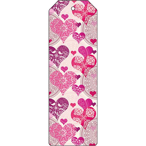 Закладка для книг декоративная СердечкиШкольные аксессуары<br>Характеристики декоративной закладки для книг Сердечки:<br><br>• тип: закладка<br>• материал: металл<br>• длина:15 см<br>• размеры: 19 x 6 x 0.5 см <br>• упаковка: пакет<br>• вес в упаковке, 45 г<br>• страна-изготовитель: Китай<br><br>Декоративная закладка для книг Сердечки - великолепный подарок для тех, кто не мыслит свою жизнь без книг. Закладка представляет собой пластину из черного окрашенного металла. Закладка украсит книгу, сделает нарядным и оригинальным стандартный органайзер или семейный альбом.<br><br>Декоративную закладку для книг Сердечки можно купить в нашем интернет-магазине.<br>Ширина мм: 150; Глубина мм: 50; Высота мм: 10; Вес г: 31; Возраст от месяцев: 48; Возраст до месяцев: 144; Пол: Женский; Возраст: Детский; SKU: 5479446;
