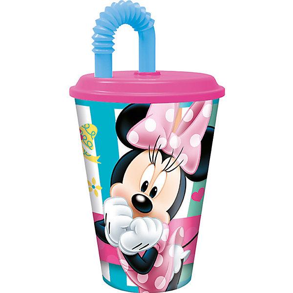 Бокал с крышкой и трубочкой  Минни-маус 450мл., DisneyМинни Маус<br>Бокал с крышкой и трубочкой  Минни-маус 450мл., Disney.<br><br>Характеристики:<br><br>• Объем: 450 мл.<br>• Материал: пищевой пластик<br><br>Бокал с крышкой и гофрированной трубочкой, украшенный 3Д изображением очаровательной Минни Маус, хорошее решение для детей, которые предпочитают активный образ жизни. Он достаточно объёмный и пить и него можно даже во время ходьбы или катания на велосипеде, не проливая ни капли жидкости. На крышке изделия предусмотрено специальное отверстие, в которое можно убрать кончик трубочки, чтобы на него не попала грязь. Бокал изготовлен из высококачественного пищевого пластика абсолютно безопасного для детей.<br><br>Бокал с крышкой и трубочкой  Минни-маус 450мл., Disney можно купить в нашем интернет-магазине.<br><br>Ширина мм: 100<br>Глубина мм: 100<br>Высота мм: 180<br>Вес г: 75<br>Возраст от месяцев: 36<br>Возраст до месяцев: 2147483647<br>Пол: Унисекс<br>Возраст: Детский<br>SKU: 5480554