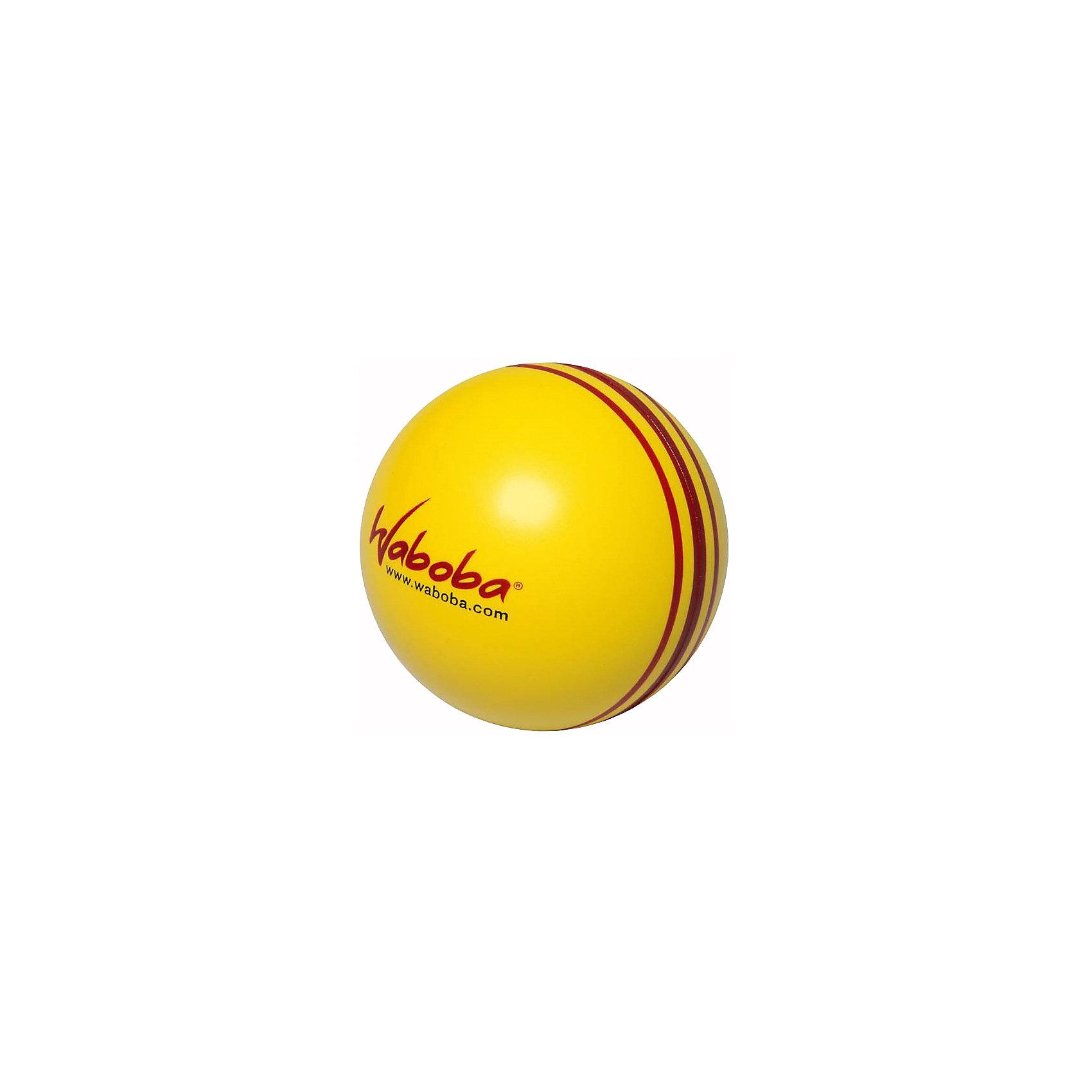 Мяч, отскакивающий от воды, Waboba Ball Blast, WabobaХарактеристики товара:<br><br>• материал: полимер<br>• размер упаковки: 7х7х7 см<br>• цвет: желтый<br>• прочный материал<br>• отскакивает от воды невысоко<br>• возраст: от 3 лет<br>• вес: 100 г<br>• страна бренда: Швеция<br>• страна производства: Китай<br><br>Новый вид активного пляжного отдыха: игры с мячами, отскакивающими от воды. Мячи Waboba - это отличный способ весело провести время всей семьей, с детьми или большой компанией. Мячи сделаны из прочного полимерного материала, они отлично держатся на воде, имею яркую расцветку.<br>Данная модификация разрабатывалась для использования в спокойной воде, водоемах со стоячей водой или бассейнах. Этот мяч невысоко отскакивает от поверхности воды, поэтому он оптимален для детей.<br><br>Мяч, отскакивающий от воды, Waboba Ball Blast, от популярного бренда Waboba можно купить в нашем интернет-магазине.<br><br>Ширина мм: 70<br>Глубина мм: 70<br>Высота мм: 70<br>Вес г: 70<br>Возраст от месяцев: 36<br>Возраст до месяцев: 192<br>Пол: Унисекс<br>Возраст: Детский<br>SKU: 5482364