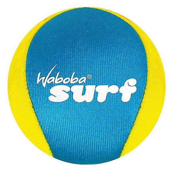 Мяч Waboba Ball New Surf, WabobaИгровые наборы<br>Характеристики товара:<br><br>• материал: полимер<br>• диаметр: 6 см<br>• цвет: желтый<br>• прочный материал<br>• отскакивает от воды высоко<br>• возраст: от 3 лет<br>• вес: 100 г<br>• страна бренда: Швеция<br>• страна производства: Китай<br><br>Новый вид активного пляжного отдыха: игры с мячами, отскакивающими от воды. Мячи Waboba - это отличный способ весело провести время всей семьей, с детьми или большой компанией. Мячи сделаны из прочного полимерного материала, они отлично держатся на воде, имею яркую расцветку.<br><br>Данная модификация разрабатывалась для использования в спокойной воде или открытых водоемах. Этот мяч высоко и быстро отскакивает от поверхности воды, поэтому играть с ним очень интересно.<br><br>Мяч, отскакивающий от воды, Waboba Ball New Surf, от популярного бренда Waboba можно купить в нашем интернет-магазине.<br>Ширина мм: 60; Глубина мм: 60; Высота мм: 60; Вес г: 90; Возраст от месяцев: 36; Возраст до месяцев: 192; Пол: Унисекс; Возраст: Детский; SKU: 5482366;
