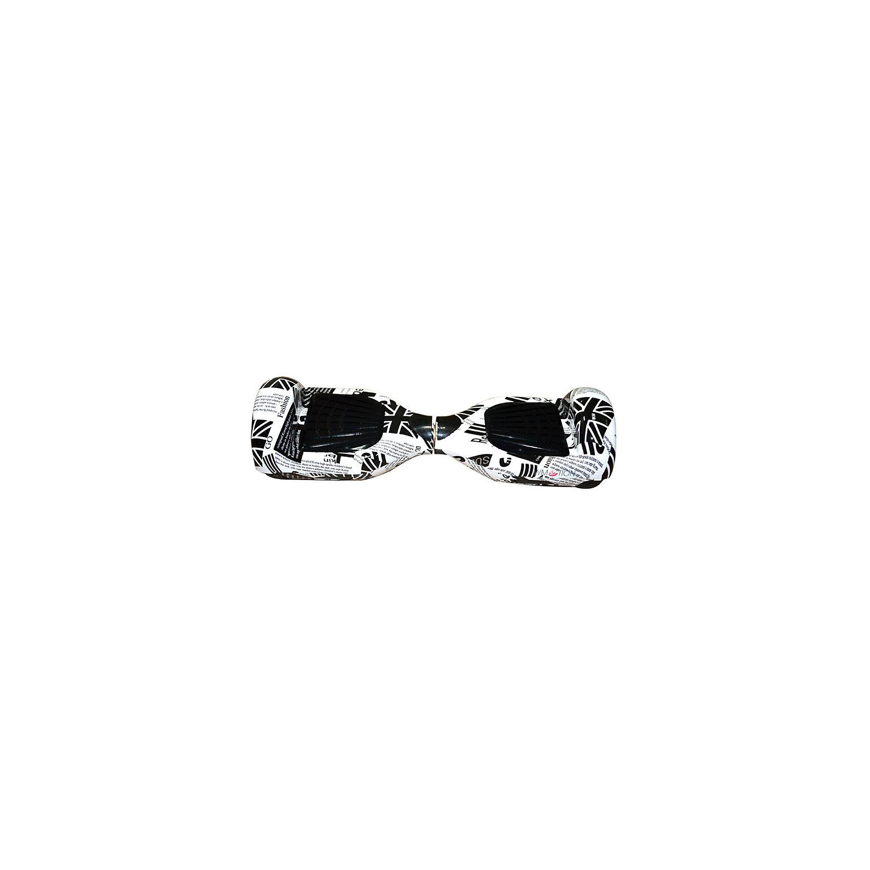 Гироскутер, флаг, WMOTIONГироскутеры<br>Характеристики товара:<br><br>• материал: пластик, металл<br>• размер: 16х58х17 см<br>• комплектация: гироскутер, зарядка, сумка, инструкция по эксплуатации, гарантийный талон, коробка<br>• цвет: черный, белый<br>• диаметр колёс: 6,5 дюймов<br>• максимальная нагрузка: 100 кг<br>• максимальная скорость – 10 км/ч <br>• максимальное расстояние, которое можно проехать на одном заряде: 20 км <br>• мощность электродвигателя: 0.35 кВт<br>• ёмкость аккумулятора: 4 400 мАч<br>• время, необходимое для полной зарядки аккумулятора: 90 мин<br>• стильный дизайн<br>• вес: 10 кг<br>• страна производитель: Китай<br>• страна бренда: Китай<br><br>Один из самых модных на настоящий моментов вид передвижения - это гироскутер. Он эффектно выглядит, позволяет ехать со скоростью выше, чем у пешеходов, но при этом достаточно безопасной для владельца. Управлять таким средством передвижения достаточно просто: нужно всего лишь переносить вес тела в определенное направление.<br><br>Такой гироскутер достаточно быстро заряжается, он не много весит. Модель уже пользуется популярностью в западных странах. Она действительно стильно выглядит, особенно в темноте с подсветкой, и позволяет выполнять эффектные трюки!<br><br>Гироскутер, флаг, от популярного бренда WMOTION можно купить в нашем интернет-магазине.<br><br>Ширина мм: 170<br>Глубина мм: 170<br>Высота мм: 580<br>Вес г: 10000<br>Возраст от месяцев: 60<br>Возраст до месяцев: 192<br>Пол: Унисекс<br>Возраст: Детский<br>SKU: 5482380