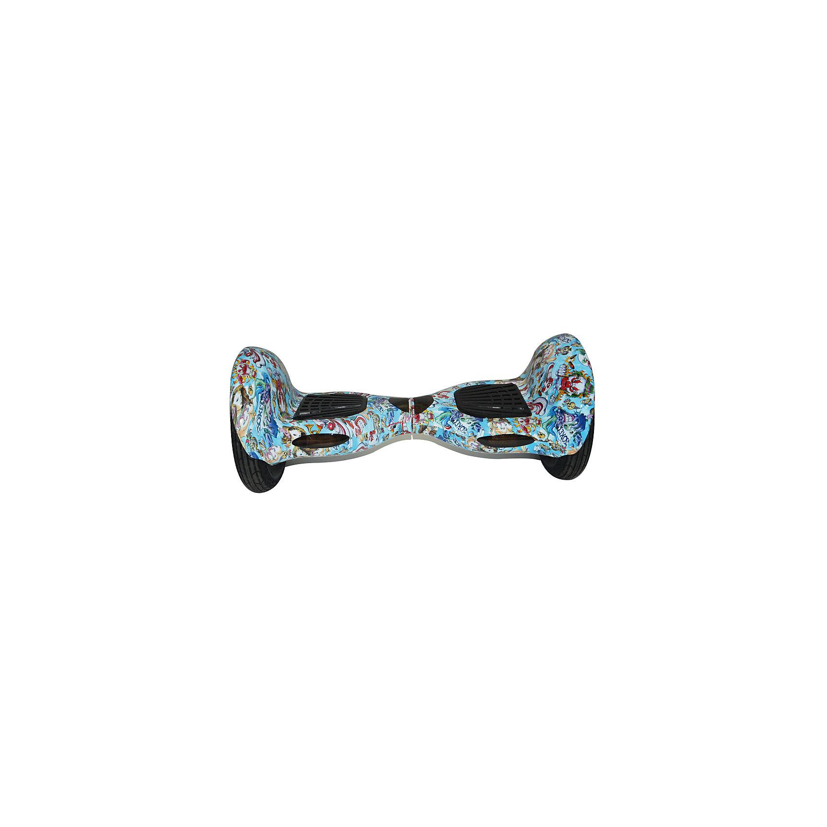 Гироскутер, комикс, WMOTIONГироскутеры<br>Характеристики товара:<br><br>• материал: металл<br>• размер: 66х27х27 см<br>• комплектация: гироскутер, зарядка, сумка, инструкция по эксплуатации, гарантийный талон, коробка<br>• цвет: разноцветный<br>• диаметр колёс: 10 дюймов<br>• максимальная нагрузка: 125 кг<br>• максимальная скорость – 12 км/ч <br>• максимальное расстояние, которое можно проехать на одном заряде: до 25 км <br>• мощность электродвигателя: 350 Вт<br>• ёмкость аккумулятора: 4 400 мАч<br>• время, необходимое для полной зарядки аккумулятора: до 1,5 ч<br>• встроенная колонка<br>• вес: 15 кг<br>• страна производитель: Китай<br>• страна бренда: Китай<br><br>Один из самых модных на настоящий моментов вид передвижения - это гироскутер. Он эффектно выглядит, позволяет ехать со скоростью выше, чем у пешеходов, но при этом достаточно безопасной для владельца. Управлять таким средством передвижения достаточно просто: нужно всего лишь переносить вес тела в определенное направление.<br><br>Такой гироскутер достаточно быстро заряжается, он не много весит. Модель уже пользуется популярностью в западных странах. Она действительно стильно выглядит, особенно в темноте с подсветкой, и позволяет выполнять эффектные трюки! Эта модель также имеет встроенные колонки, с помощью которых можно слушать музыку.<br><br>Гироскутер, комикс, от популярного бренда WMOTION можно купить в нашем интернет-магазине.<br><br>Ширина мм: 270<br>Глубина мм: 270<br>Высота мм: 660<br>Вес г: 12000<br>Возраст от месяцев: 60<br>Возраст до месяцев: 192<br>Пол: Унисекс<br>Возраст: Детский<br>SKU: 5482394