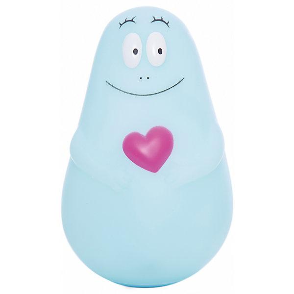 Ночник Barbapapa MICRO USB, PaboboДетские предметы интерьера<br>Характеристики:<br><br>• Пол: для мальчика<br>• Тематика рисунка: сердечко<br>• Цвет: голубой<br>• Материал: поливинилхлорид<br>• Светодиодные лампы<br>• До 11 часов непрерывной работы<br>• Мягкий рассеянный свет<br>• Во время работы не нагревается<br>• Автоматическое отключение<br>• Заряжается от провода USB<br>• Размеры (Д*Ш*В): 9*15*9 см<br>• Вес: 550 г <br>• Особенности ухода: допускается сухая и влажная чистка<br><br>Ночник Barbapapa MICRO USB, Pabobo от французского торгового бренда, который занимается производством детских светильников и проекторов. При изготовлении используются качественные и безопасные материалы, которые характеризуются длительным сроком службы. Пластик, из которого изготовлен ночник, устойчив к повреждениям и появлению царапин, не имеет запаха. <br><br>Светильник оснащен светодиодными лампами, которые не нужно менять. Степень яркости автоматически регулируется в зависимости от естественного освещения. Светильник выполнен в форме милого Барбапапы, которого удобно держать в руках и брать с собой под одеяло. В комплекте предусмотрена подставка, которая одновременно является базой для подзарядки.<br><br>Ночник Barbapapa MICRO USB, Pabobo можно купить в нашем интернет-магазине.<br><br>Ширина мм: 90<br>Глубина мм: 90<br>Высота мм: 140<br>Вес г: 190<br>Возраст от месяцев: 0<br>Возраст до месяцев: 216<br>Пол: Мужской<br>Возраст: Детский<br>SKU: 5482453