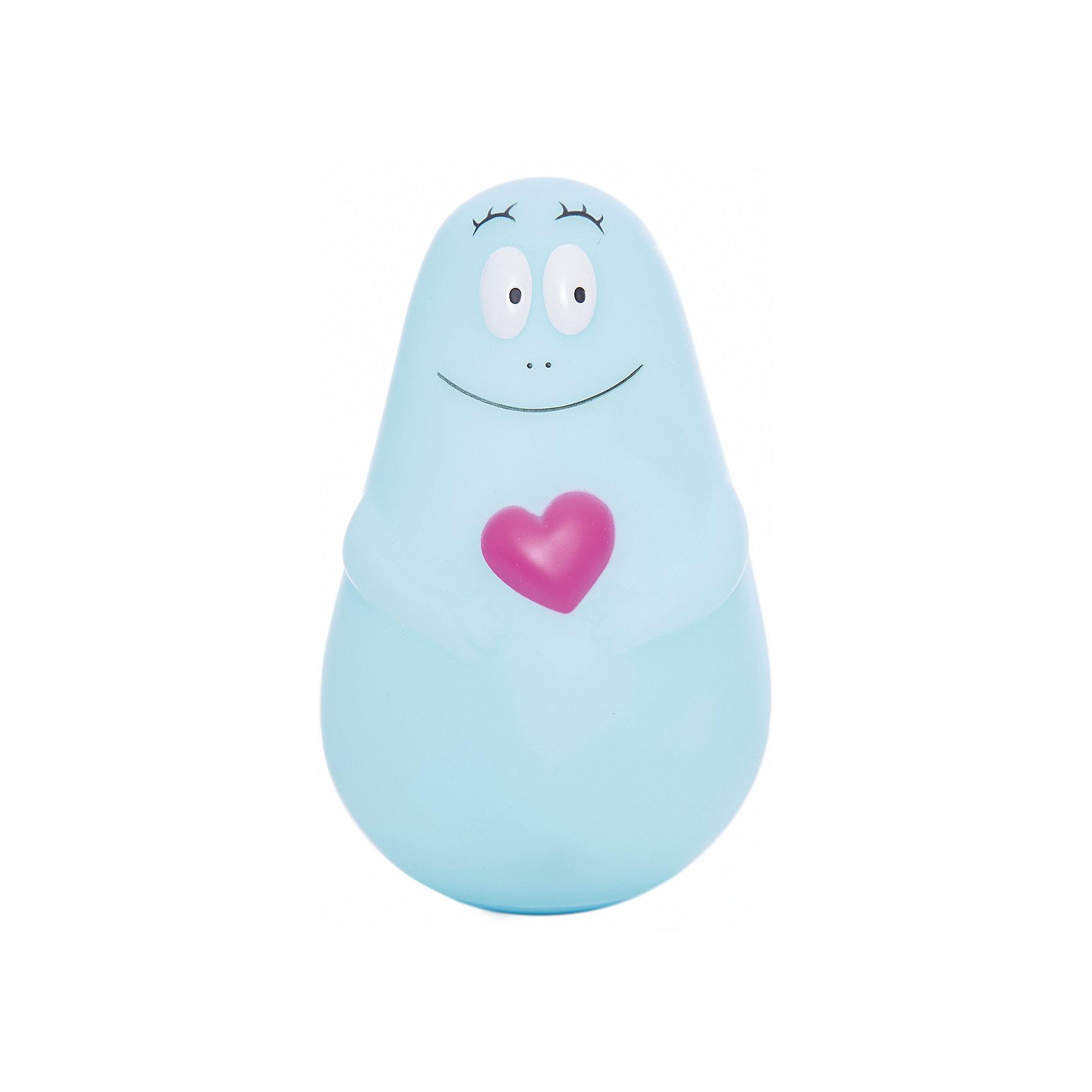 Ночник Barbapapa MICRO USB, PaboboНочники и проекторы<br>Характеристики:<br><br>• Пол: для мальчика<br>• Тематика рисунка: сердечко<br>• Цвет: голубой<br>• Материал: поливинилхлорид<br>• Светодиодные лампы<br>• До 11 часов непрерывной работы<br>• Мягкий рассеянный свет<br>• Во время работы не нагревается<br>• Автоматическое отключение<br>• Заряжается от провода USB<br>• Размеры (Д*Ш*В): 9*15*9 см<br>• Вес: 550 г <br>• Особенности ухода: допускается сухая и влажная чистка<br><br>Ночник Barbapapa MICRO USB, Pabobo от французского торгового бренда, который занимается производством детских светильников и проекторов. При изготовлении используются качественные и безопасные материалы, которые характеризуются длительным сроком службы. Пластик, из которого изготовлен ночник, устойчив к повреждениям и появлению царапин, не имеет запаха. <br><br>Светильник оснащен светодиодными лампами, которые не нужно менять. Степень яркости автоматически регулируется в зависимости от естественного освещения. Светильник выполнен в форме милого Барбапапы, которого удобно держать в руках и брать с собой под одеяло. В комплекте предусмотрена подставка, которая одновременно является базой для подзарядки.<br><br>Ночник Barbapapa MICRO USB, Pabobo можно купить в нашем интернет-магазине.<br><br>Ширина мм: 90<br>Глубина мм: 90<br>Высота мм: 140<br>Вес г: 190<br>Возраст от месяцев: 0<br>Возраст до месяцев: 216<br>Пол: Мужской<br>Возраст: Детский<br>SKU: 5482453