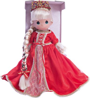 Кукла Рапунцель в красном , 30 см, Precious Moments