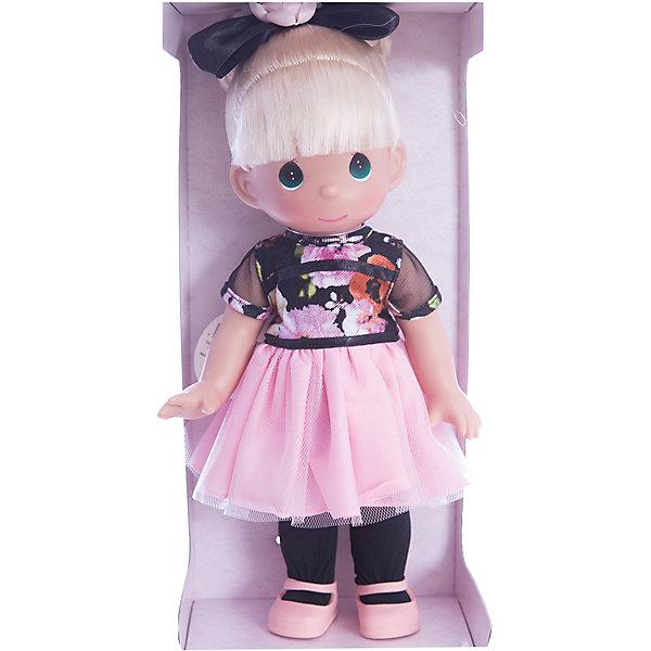 Кукла Довольно мало мне 30 см, Precious MomentsКуклы<br>Характеристики товара:<br><br>• возраст: от 5 лет;<br>• материал: винил, текстиль;<br>• высота куклы: 30 см;<br>• размер упаковки: 30х18х12 см;<br>• вес упаковки: 350 гр.;<br>• страна производитель: Филиппины.<br><br>Кукла «Довольно мало мне» Precious Moments — коллекционная кукла с выразительными зелеными глазками и светлыми волосами с челкой. Куколка одета в платье с пышной розовой юбкой и розовые туфельки. Волосы завязаны бантиком.<br><br>У куклы имеются подвижные детали. Она выполнена из качественного безопасного материала.<br><br>Куклу «Довольно мало мне» Precious Moments можно приобрести в нашем интернет-магазине.<br><br>Ширина мм: 140<br>Глубина мм: 300<br>Высота мм: 80<br>Вес г: 428<br>Возраст от месяцев: 36<br>Возраст до месяцев: 2147483647<br>Пол: Женский<br>Возраст: Детский<br>SKU: 5482490