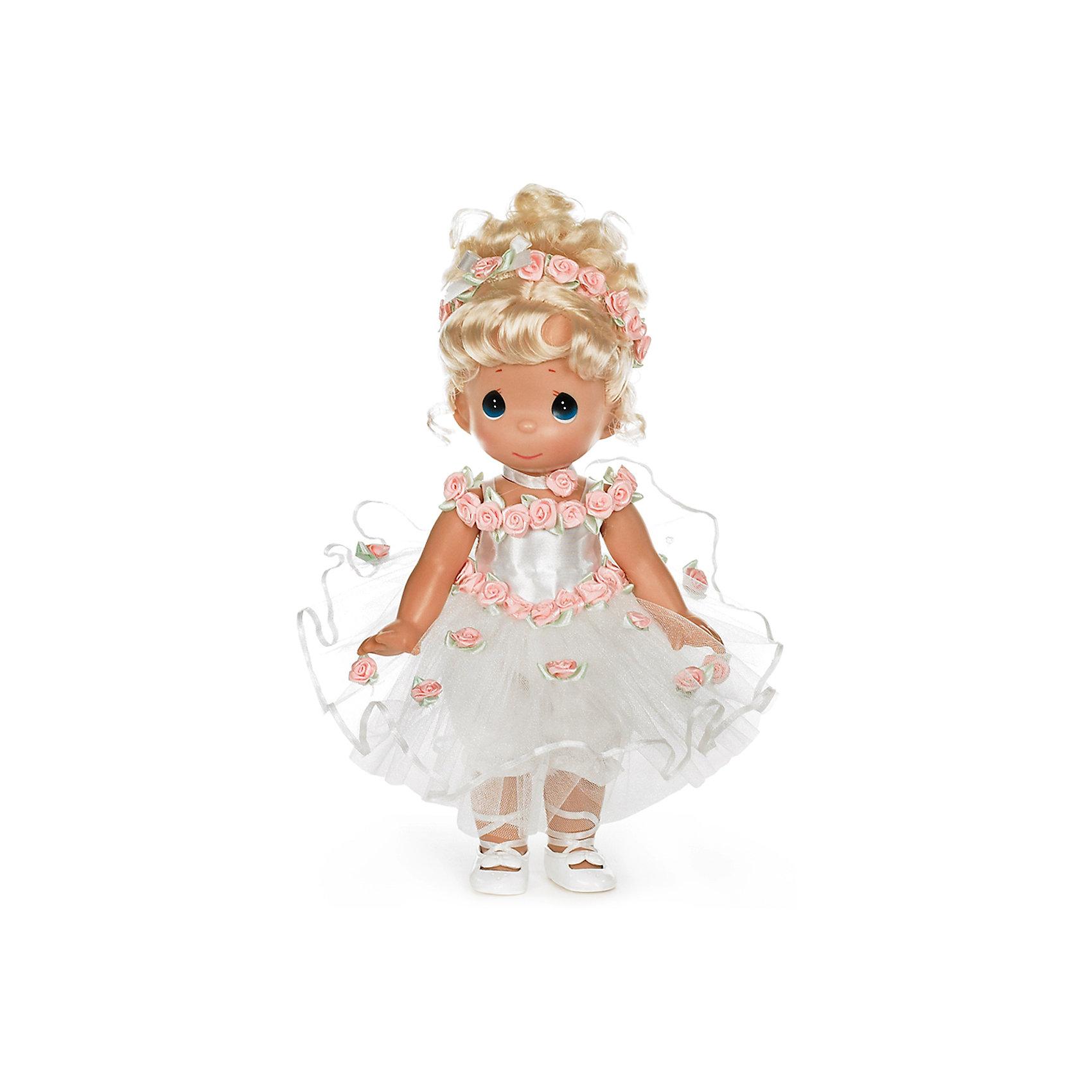Кукла Танец в сердце, блондинка, 30 см, Precious MomentsКлассические куклы<br><br><br>Ширина мм: 140<br>Глубина мм: 300<br>Высота мм: 80<br>Вес г: 428<br>Возраст от месяцев: 36<br>Возраст до месяцев: 2147483647<br>Пол: Женский<br>Возраст: Детский<br>SKU: 5482501