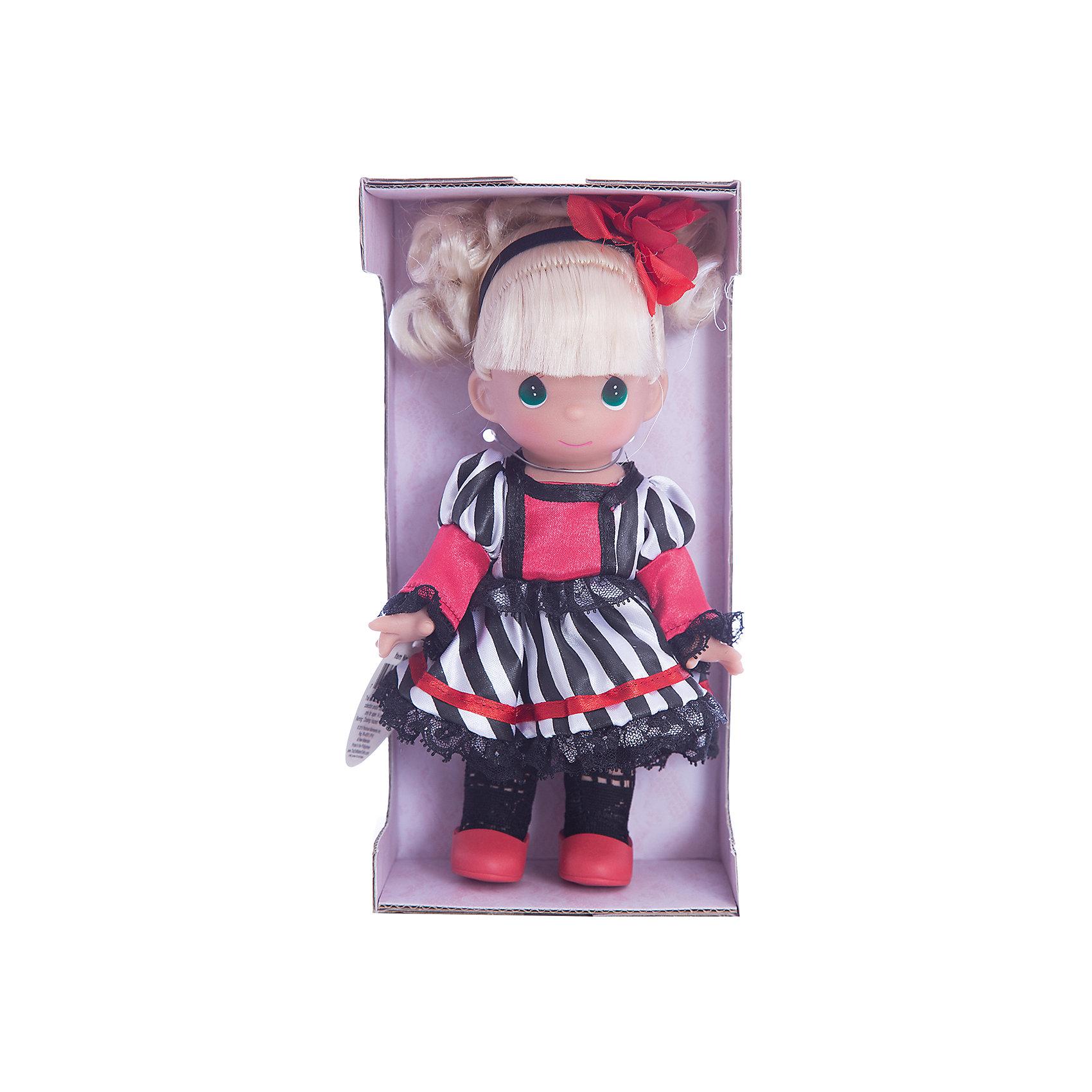 Кукла Сесиль. Франция, 21 см, Precious MomentsБренды кукол<br>Характеристики товара:<br><br>• возраст: от 5 лет;<br>• материал: винил, текстиль;<br>• высота куклы: 21 см;<br>• размер упаковки: 25х13х7 см;<br>• вес упаковки: 175 гр.;<br>• страна производитель: Филиппины.<br><br>Кукла «Сесиль. Франция» Precious Moments — коллекционная кукла с выразительными зелеными глазками и светлыми волосами, завязанными в хвостик. Куколка одета в черно-белое платье, ажурные колготки и красные туфельки. У куклы имеются подвижные детали. Она выполнена из качественного безопасного материала.<br><br>Куклу «Сесиль. Франция» Precious Moments можно приобрести в нашем интернет-магазине.<br><br>Ширина мм: 60<br>Глубина мм: 210<br>Высота мм: 60<br>Вес г: 110<br>Возраст от месяцев: 36<br>Возраст до месяцев: 2147483647<br>Пол: Женский<br>Возраст: Детский<br>SKU: 5482516