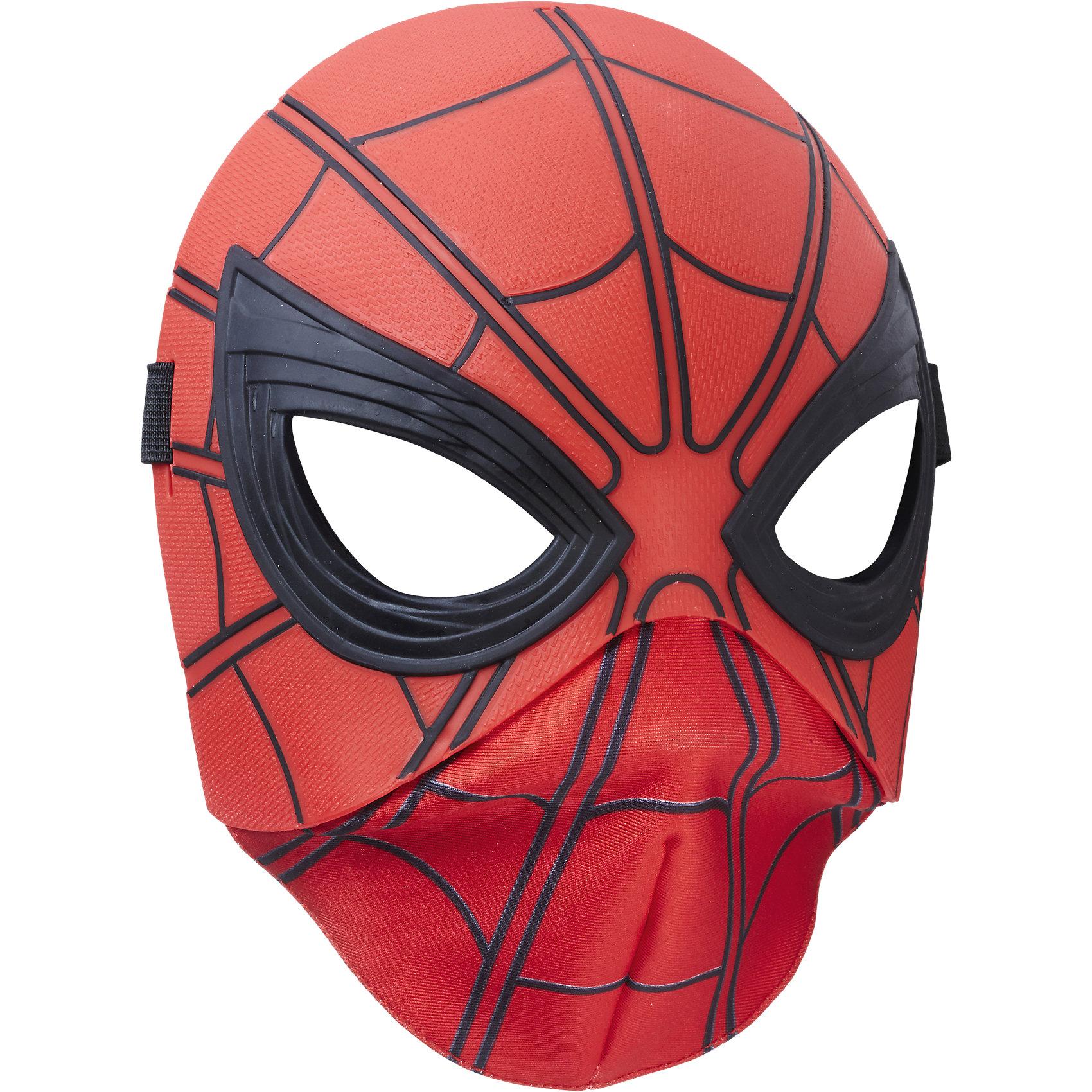 Маска человека-паука, Человек-паук, HasbroСюжетно-ролевые игры<br><br><br>Ширина мм: 255<br>Глубина мм: 195<br>Высота мм: 86<br>Вес г: 144<br>Возраст от месяцев: 60<br>Возраст до месяцев: 120<br>Пол: Мужской<br>Возраст: Детский<br>SKU: 5482543