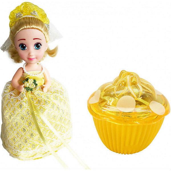 Кукла-кекс Cupcake Sunrise «Невеста»Куклы<br>Характеристики товара:<br><br>• возраст: от 3 лет;<br>• материал: текстиль, силикон;<br>• в комплекте: 1 кукла-кекс, расческа;<br>• высота куклы: 15 см;<br>• размер упаковки: 10,3х10х9,8 см;<br>• вес упаковки: 100 гр.;<br>• товар представлен в ассортименте.<br><br>Кукла-кекс Cupcake Sunrise «Невеста» - уже многим полюбившаяся куколка-кекс, только теперь в образе невесты. Она также легко превращается в кексик, стоит лишь поднять юбку платья. Поскольку сделан кекс из силикона, то он легко принимает нужную форму. Крышка кекса выполняет роль шляпки.<br><br>Все куклы-невесты одеты в очаровательные платья, украшенные стразами, бусинами и блестками. В набор входит расческа, при помощи которой можно причесать мягкие волосы куклы.<br><br>Куклу-кекс Cupcake Sunrise «Невеста» можно приобрести в нашем интернет-магазине.<br>Ширина мм: 115; Глубина мм: 115; Высота мм: 115; Вес г: 200; Возраст от месяцев: 36; Возраст до месяцев: 84; Пол: Женский; Возраст: Детский; SKU: 5482551;