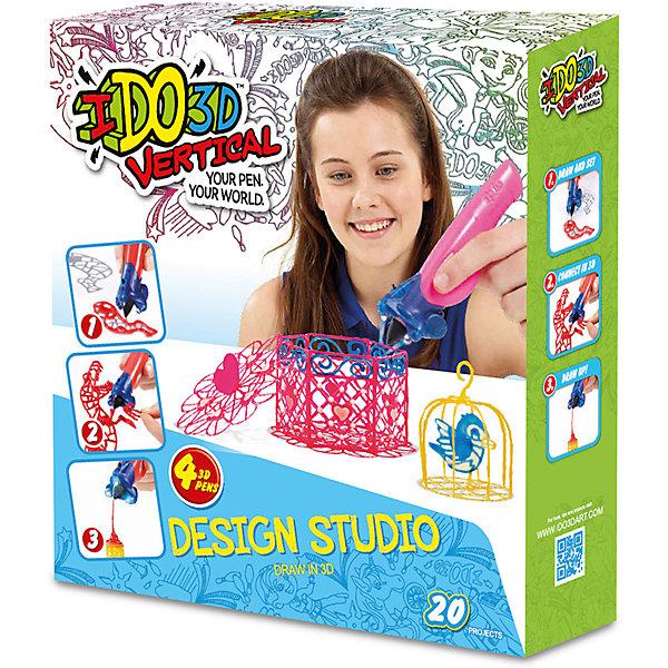3D ручка Вертикаль,4шт, Милые создания (роз+бел+син+желт)Наборы 3D ручек<br>Революционная игрушка в области 3Д рисования, новинка 2016 -  Ручка 3D для рисования в воздухе. В наборе- 4 цветных 3D ручек, световая насадка для отверждения, трафареты и инструкция. Работает от 3-х батареек А76/(LR44) входят в набор<br><br>Ширина мм: 30<br>Глубина мм: 7<br>Высота мм: 33<br>Вес г: 4<br>Возраст от месяцев: 36<br>Возраст до месяцев: 2147483647<br>Пол: Унисекс<br>Возраст: Детский<br>SKU: 5482768