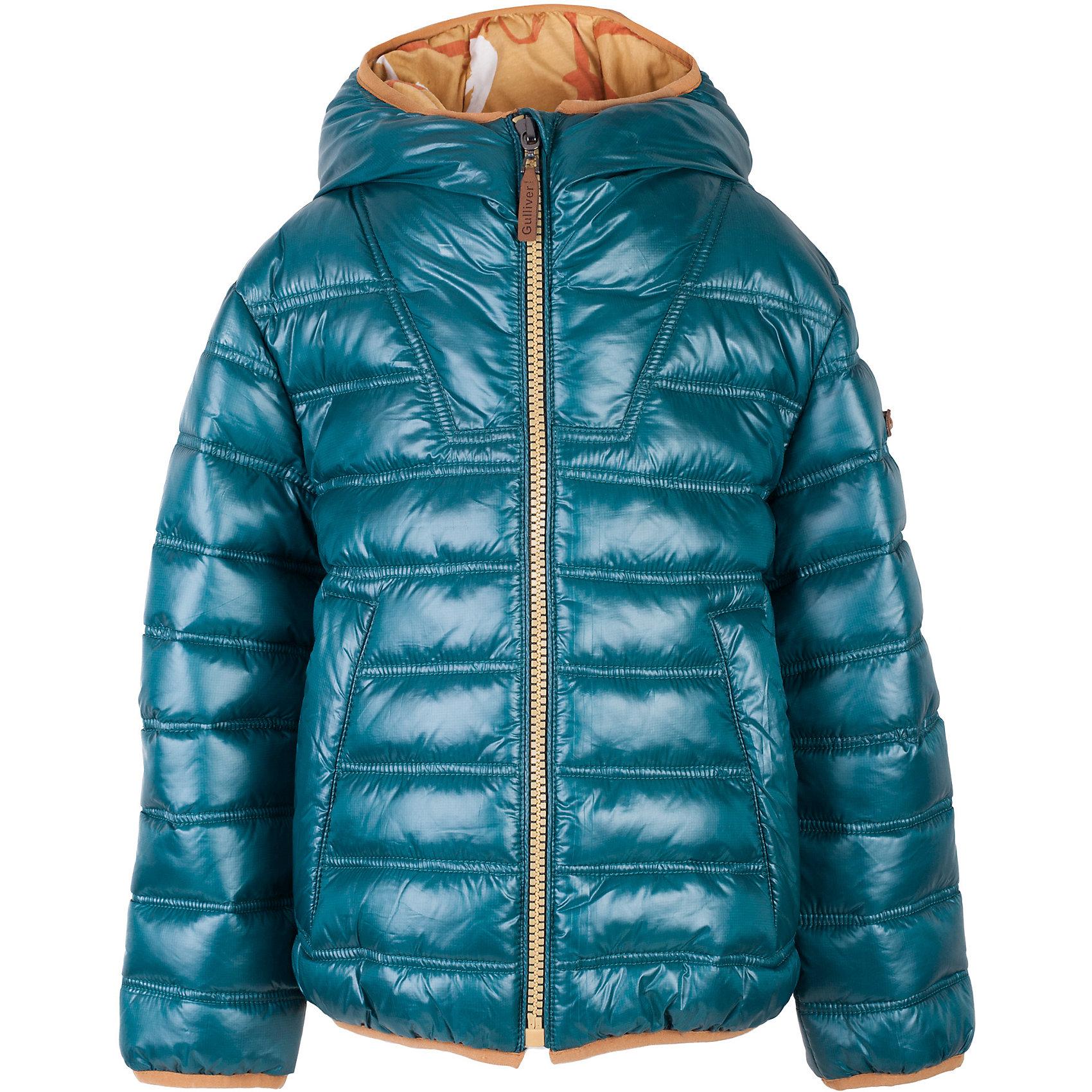 Куртка для мальчика GulliverВерхняя одежда<br>Мамы мальчиков знают: купить детскую утепленную куртку для весны намного сложнее, чем кажется. Перебирая модели в магазинах одежды, многих постигает разочарование: скучные, блеклые, старомодные вещи не вызывают желания. Но, увидев куртку Gulliver из коллекции Пикассо, не остается сомнений - это именно то, что нужно! Модный цвет, стильный дизайн, принтованная подкладка делают эту куртку незаменимым атрибутом весеннего гардероба. Если вы хотите сделать каждый день ребенка комфортным, интересным и позитивным, вам стоит купить куртку от Gulliver, и яркий образ в стиле casual ему обеспечен.<br>Состав:<br>верх:               100% полиэстер; подкладка:                      50% хлопок      50% полиэстер; утеплитель: иск.пух          100% полиэстер<br><br>Ширина мм: 356<br>Глубина мм: 10<br>Высота мм: 245<br>Вес г: 519<br>Цвет: голубой<br>Возраст от месяцев: 72<br>Возраст до месяцев: 84<br>Пол: Мужской<br>Возраст: Детский<br>Размер: 122,140,128,134<br>SKU: 5482817