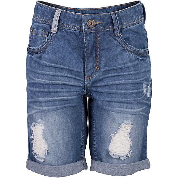 Шорты джинсовые для мальчика GulliverШорты, бриджи, капри<br>Джинсовые шорты для мальчика - изделие из разряда must have! Во-первых, это стильный удобный элемент гардероба, идеально подходящий к любой футболке, майке, джемперу. Во-вторых, джинсовые шорты очень практичны, а значит, незаменимы для активных игр и долгих прогулок на свежем воздухе. Поклонники Gulliver, конечно, уже привыкли к интересным джинсовым изделиям. Но в каждом сезоне дизайнеры компании создают новые элементы и выразительные детали. Модная посадка изделия на фигуре, варка, повреждения, потертости, цветные брызги - у вас снова есть шанс купить классные джинсовые шорты от лучшего бренда детской одежды! Синие шорты для мальчика - оптимальное решение для яркого и комфортного лета!<br>Состав:<br>100% хлопок<br><br>Ширина мм: 191<br>Глубина мм: 10<br>Высота мм: 175<br>Вес г: 273<br>Цвет: синий<br>Возраст от месяцев: 108<br>Возраст до месяцев: 120<br>Пол: Мужской<br>Возраст: Детский<br>Размер: 140,122,134,128<br>SKU: 5482837