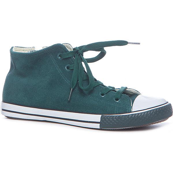 Кеды для мальчика GulliverКеды<br>Кеды, кроссовки, ботинки… С каждым днем спортивная обувь все больше входит в жизнь наших детей, вытесняя ботинки и туфли. Высокие замшевые кеды темно-зеленого цвета - классный стилеобразующий элемент! Они отлично завершат любой образ из коллекции Пикассо, придав ему новизну и индивидуальность. Зеленые кеды для мальчика выглядят потрясающе! Стильный дизайн, красивая форма, благородная фактура основного материала, комфорт - ну что еще нужно для весенних прогулок? Если вы хотите купить модные детские кеды, создающие настроение, выбор этой модели - правильное решение!<br>Состав:<br>верх: замша, подклад: канвас, стелька: канвас, подошва: вулканизированная резина<br><br>Ширина мм: 250<br>Глубина мм: 150<br>Высота мм: 150<br>Вес г: 250<br>Цвет: зеленый<br>Возраст от месяцев: 72<br>Возраст до месяцев: 84<br>Пол: Мужской<br>Возраст: Детский<br>Размер: 30,36,35,34,33,32,31<br>SKU: 5482878