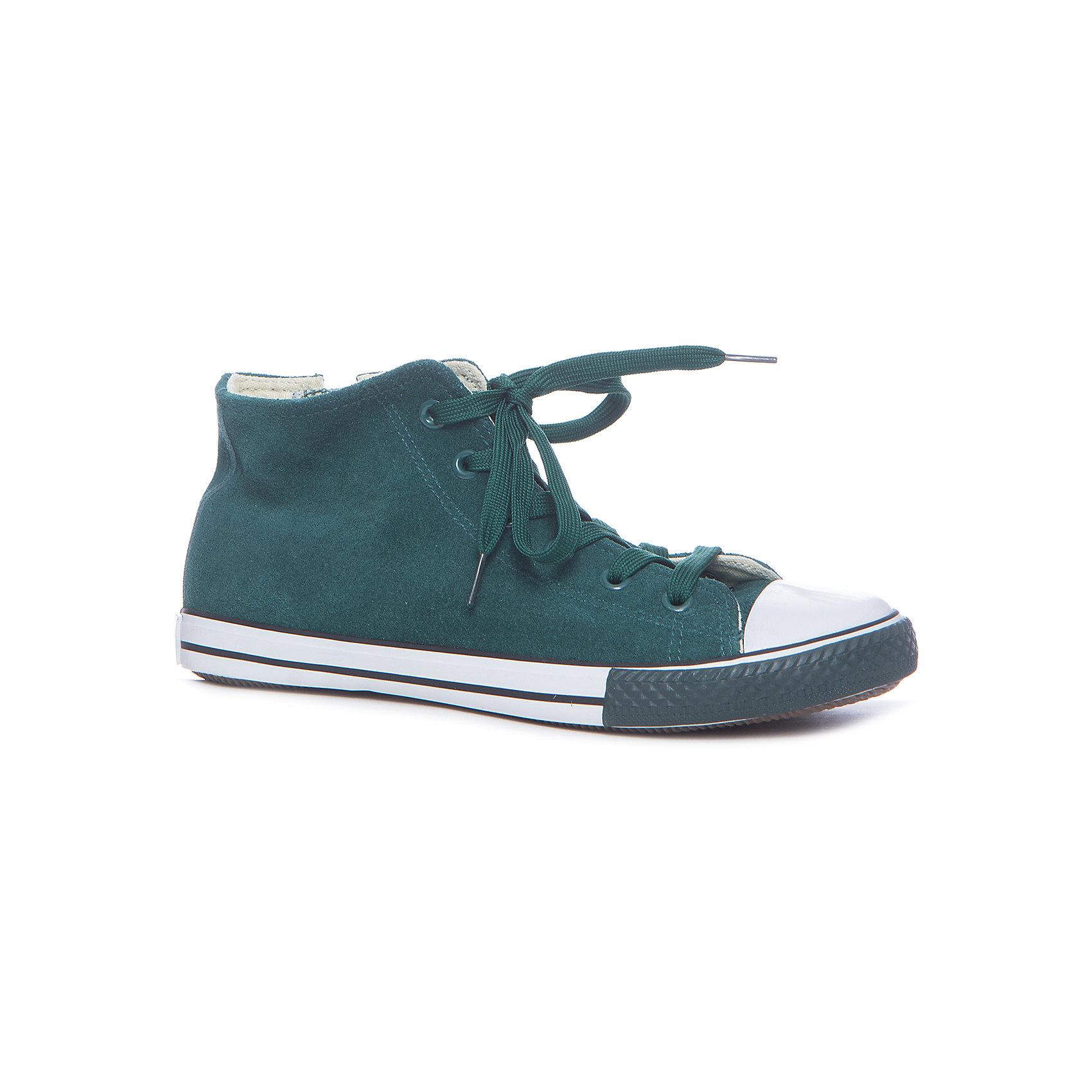 Кеды для мальчика GulliverКеды<br>Кеды, кроссовки, ботинки… С каждым днем спортивная обувь все больше входит в жизнь наших детей, вытесняя ботинки и туфли. Высокие замшевые кеды темно-зеленого цвета - классный стилеобразующий элемент! Они отлично завершат любой образ из коллекции Пикассо, придав ему новизну и индивидуальность. Зеленые кеды для мальчика выглядят потрясающе! Стильный дизайн, красивая форма, благородная фактура основного материала, комфорт - ну что еще нужно для весенних прогулок? Если вы хотите купить модные детские кеды, создающие настроение, выбор этой модели - правильное решение!<br>Состав:<br>верх: замша, подклад: канвас, стелька: канвас, подошва: вулканизированная резина<br><br>Ширина мм: 250<br>Глубина мм: 150<br>Высота мм: 150<br>Вес г: 250<br>Цвет: зеленый<br>Возраст от месяцев: 144<br>Возраст до месяцев: 156<br>Пол: Мужской<br>Возраст: Детский<br>Размер: 36,30,31,32,33,34,35<br>SKU: 5482878
