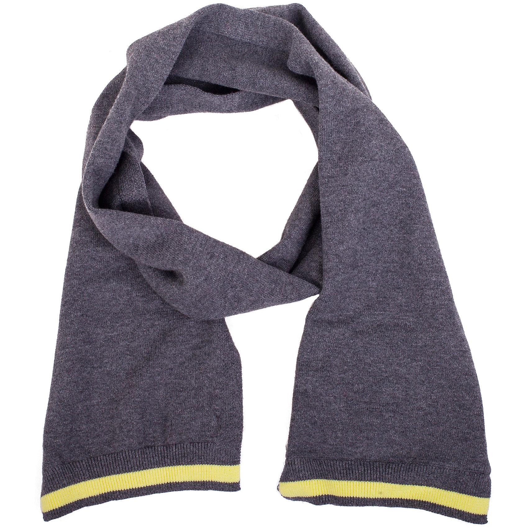Шарф для мальчика GulliverШарфы, платки<br>Классный вязаный шарф - важный элемент повседневного образа. Он защитит юного модника от весенней прохлады, а также придаст образу элегантную небрежность. Вы решили купить стильный шарф для мальчика? Синий меланжевый шарф из коллекции Сардиния - прекрасный выбор!<br>Состав:<br>100% хлопок<br><br>Ширина мм: 88<br>Глубина мм: 155<br>Высота мм: 26<br>Вес г: 106<br>Цвет: синий<br>Возраст от месяцев: 84<br>Возраст до месяцев: 120<br>Пол: Мужской<br>Возраст: Детский<br>Размер: one size<br>SKU: 5482991