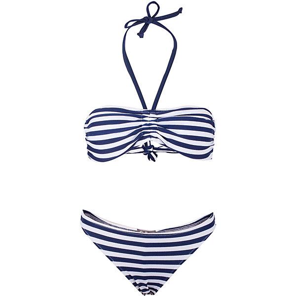 Купальник для девочки GulliverКупальники и плавки<br>Красивый купальник - главная модель пляжного отдыха! Если вы планируете провести свой отпуск у моря, вам необходимо купить модный купальник для девочки-подростка. Помните, выбор купальника - важная и ответственная задача! Он должен быть ярким, комфортным, удобным, быстро сохнуть, не стеснять движений и, главное, очень нравиться своей обладательнице! Именно такой, раздельный синий купальник в динамичную морскую полоску - лучший вариант для отдыха у воды!<br>Состав:<br>верх:                 83% полиамид 17% эластан; подкладка:           100% полиэстер<br><br>Ширина мм: 183<br>Глубина мм: 60<br>Высота мм: 135<br>Вес г: 119<br>Цвет: синий<br>Возраст от месяцев: 120<br>Возраст до месяцев: 132<br>Пол: Женский<br>Возраст: Детский<br>Размер: 158,146<br>SKU: 5483088