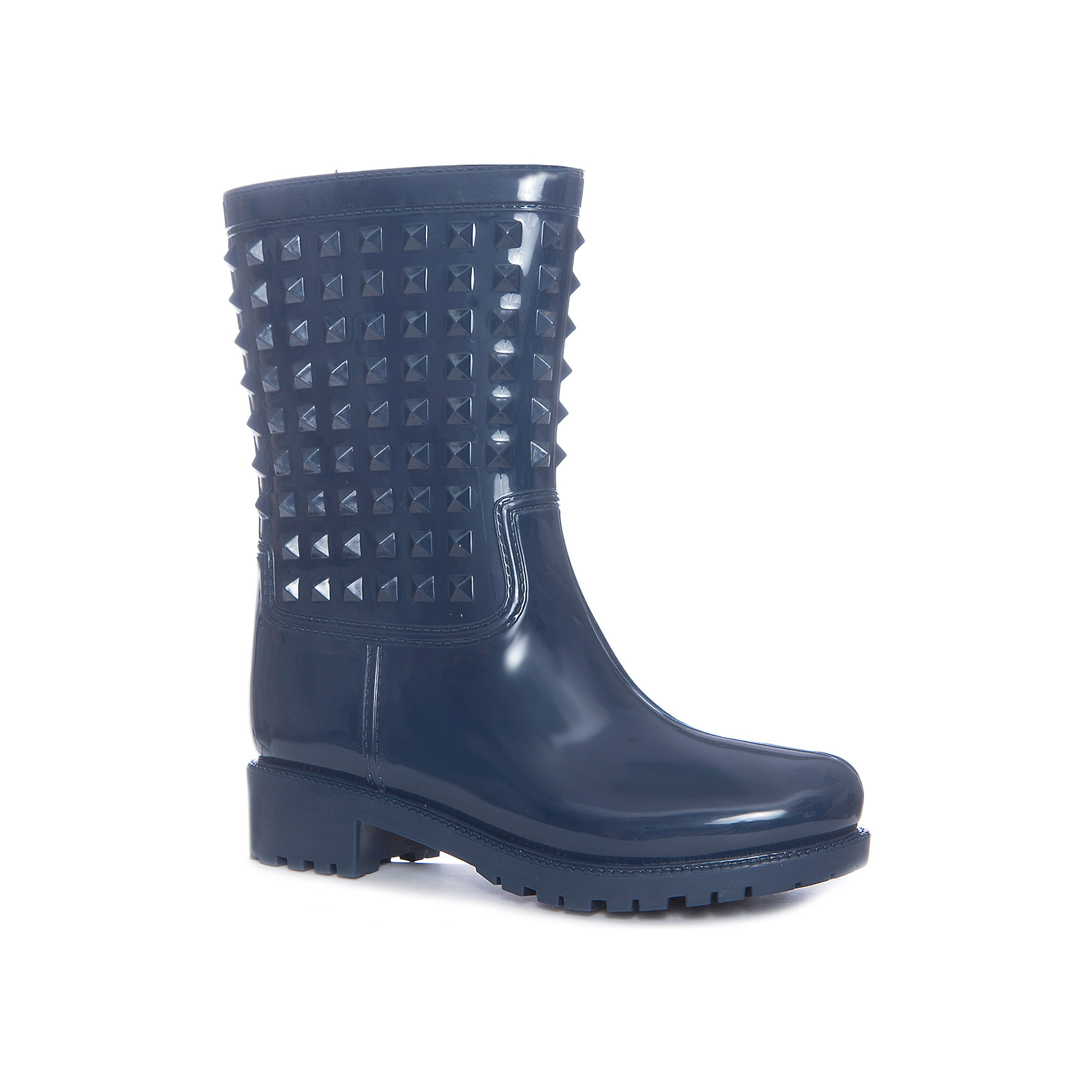 Резиновые сапоги для девочки GulliverПрошли те времена, когда резиновые сапоги играли исключительно функциональную роль. В наше время дизайну резиновых сапог уделяется такое же внимание, как босоножкам и туфлям. И действительно, почему в дождь и слякоть надо выглядеть хуже? Если вы уверены в том, что обувь - главный игрок в построении стильного гардероба, эти резиновые сапоги с шипами - лучшее тому доказательство!<br>Состав:<br>верх:ПВХ; подкладка: текстиль; подошва:ПВХ<br><br>Ширина мм: 237<br>Глубина мм: 180<br>Высота мм: 152<br>Вес г: 438<br>Цвет: синий<br>Возраст от месяцев: 168<br>Возраст до месяцев: 1188<br>Пол: Женский<br>Возраст: Детский<br>Размер: 40,36,37,38,39<br>SKU: 5483097