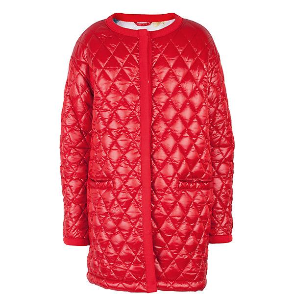 Пальто для девочки GulliverВерхняя одежда<br>Прошли времена, когда детское пальто выполняло исключительно функциональную роль. Сейчас изделию недостаточно быть только удобным и теплым. Пальто для девочки должно быть стильным, элегантным, привлекательным и отражать в полной мере характер и предпочтения своей обладательницы! Именно такое, красное стеганое пальто без воротника может понравиться юной моднице. Если вы предпочитаете сформировать весенний гардероб ребенка из ярких, современных, интересных вещей, вам стоит купить детское пальто для девочки из коллекции Коста-Рика! В этом пальто вашему ребенку гарантирован прекрасный внешний вид, соответствие модным трендам, а также тепло, комфорт и свобода движений.<br>Состав:<br>верх: 60% полиэстер 40% нейлон; подкладка: 100% полиэстер; утеплитель: 100% полиэстер<br><br>Ширина мм: 356<br>Глубина мм: 10<br>Высота мм: 245<br>Вес г: 519<br>Цвет: красный<br>Возраст от месяцев: 120<br>Возраст до месяцев: 132<br>Пол: Женский<br>Возраст: Детский<br>Размер: 146,164,152,158<br>SKU: 5483145