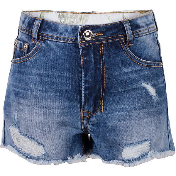 Шорты джинсовые для девочки GulliverДжинсовая одежда<br>Школьный сезон позади и пора составлять летний гардероб ребенка...Джинсовые шорты для девочки - вещь совершенно необходимая! Они подарят 100% комфорт и сделают образ  стильным и современным. Летние шорты с эффектными повреждениями и варкой, будут лучшим подарком для девочки-модницы. Если вы решили купить шорты, остановите свой выбор на этой модели! Модные джинсовые шорты из 100% хлопка - ваш ответ жаркому лету!<br>Состав:<br>100% хлопок<br>Ширина мм: 191; Глубина мм: 10; Высота мм: 175; Вес г: 273; Цвет: голубой; Возраст от месяцев: 120; Возраст до месяцев: 132; Пол: Женский; Возраст: Детский; Размер: 146,164,158,152; SKU: 5483155;