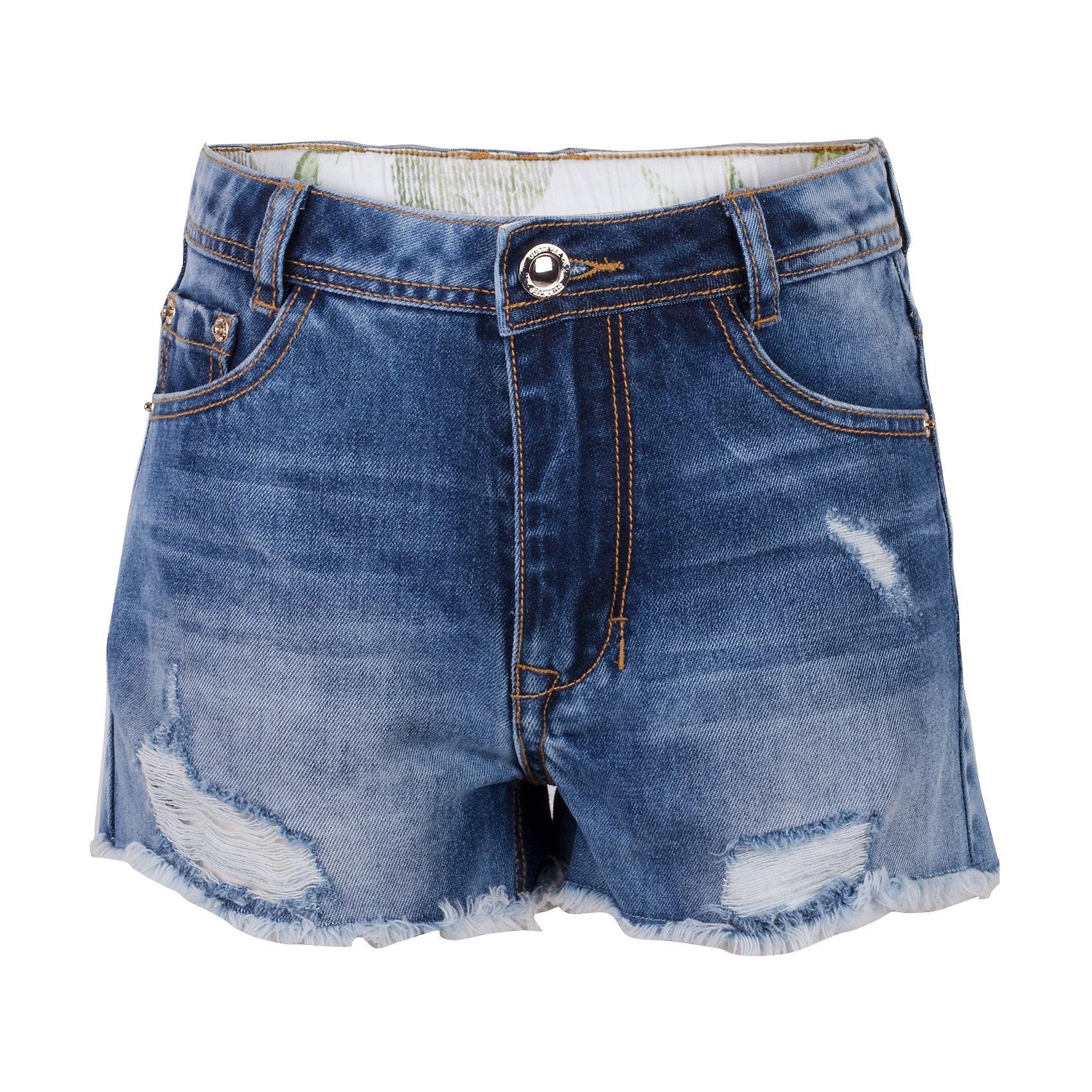 Шорты джинсовые для девочки GulliverДжинсовая одежда<br>Школьный сезон позади и пора составлять летний гардероб ребенка...Джинсовые шорты для девочки - вещь совершенно необходимая! Они подарят 100% комфорт и сделают образ  стильным и современным. Летние шорты с эффектными повреждениями и варкой, будут лучшим подарком для девочки-модницы. Если вы решили купить шорты, остановите свой выбор на этой модели! Модные джинсовые шорты из 100% хлопка - ваш ответ жаркому лету!<br>Состав:<br>100% хлопок<br><br>Ширина мм: 191<br>Глубина мм: 10<br>Высота мм: 175<br>Вес г: 273<br>Цвет: голубой<br>Возраст от месяцев: 156<br>Возраст до месяцев: 168<br>Пол: Женский<br>Возраст: Детский<br>Размер: 164,146,152,158<br>SKU: 5483155