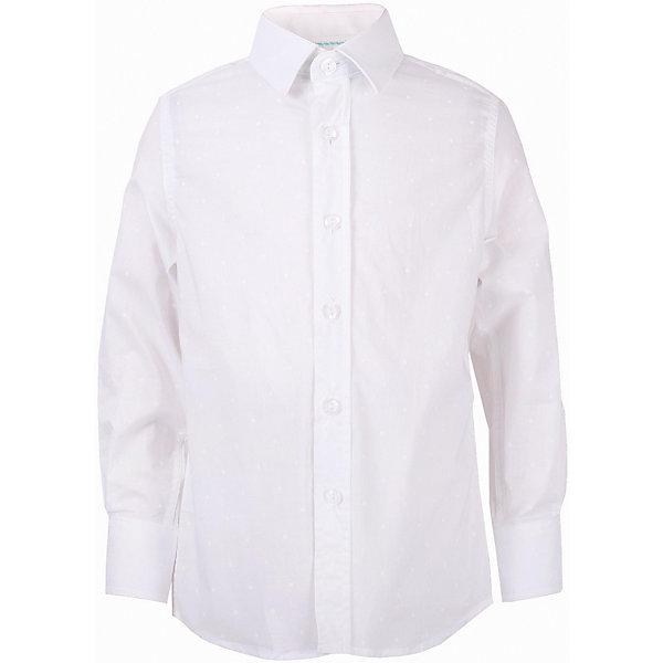 Рубашка для мальчика GulliverБлузки и рубашки<br>Модная рубашка для мальчика сделает образ ребенка новым и необычным! Интересная фактурная ткань, чуть приталенный силуэт делают рубашку эффектным элементом нарядного летнего гардероба! Если вы хотите купить оригинальную рубашку из 100% хлопка, которая способна подчеркнуть красоту и торжественность момента, эта рубашка - достойный выбор! В ней ребенку гарантирован прекрасный внешний вид, а также комфорт и свобода движений.<br>Состав:<br>100% хлопок<br>Ширина мм: 174; Глубина мм: 10; Высота мм: 169; Вес г: 157; Цвет: белый; Возраст от месяцев: 72; Возраст до месяцев: 84; Пол: Мужской; Возраст: Детский; Размер: 122,134,140,128; SKU: 5483310;
