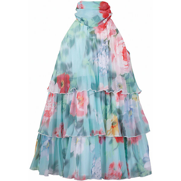 Платье для девочки GulliverОдежда<br>Воздушный орнаментальный шифон… Любое платье из него - настоящий шедевр! Потрясающий цветочный рисунок ткани в розово-ментоловой гамме, летящий трапециевидный силуэт, элегантное оформление горловины легким бантом настраивают на романтический лад, создавая нежный благородный образ, наполненной красотой и изяществом. Если вы предпочитаете иметь в гардеробе девочки хотя бы одну стильную нарядную вещь, вам стоит купить платье из коллекции Акварель и вашему ребенку гарантирован образ современной принцессы с хорошим вкусом и благородными манерами.<br>Состав:<br>верх:               100% полиэстер; подкладка:           100% хлопок<br><br>Ширина мм: 236<br>Глубина мм: 16<br>Высота мм: 184<br>Вес г: 177<br>Цвет: голубой<br>Возраст от месяцев: 72<br>Возраст до месяцев: 84<br>Пол: Женский<br>Возраст: Детский<br>Размер: 122,140,134,128<br>SKU: 5483369