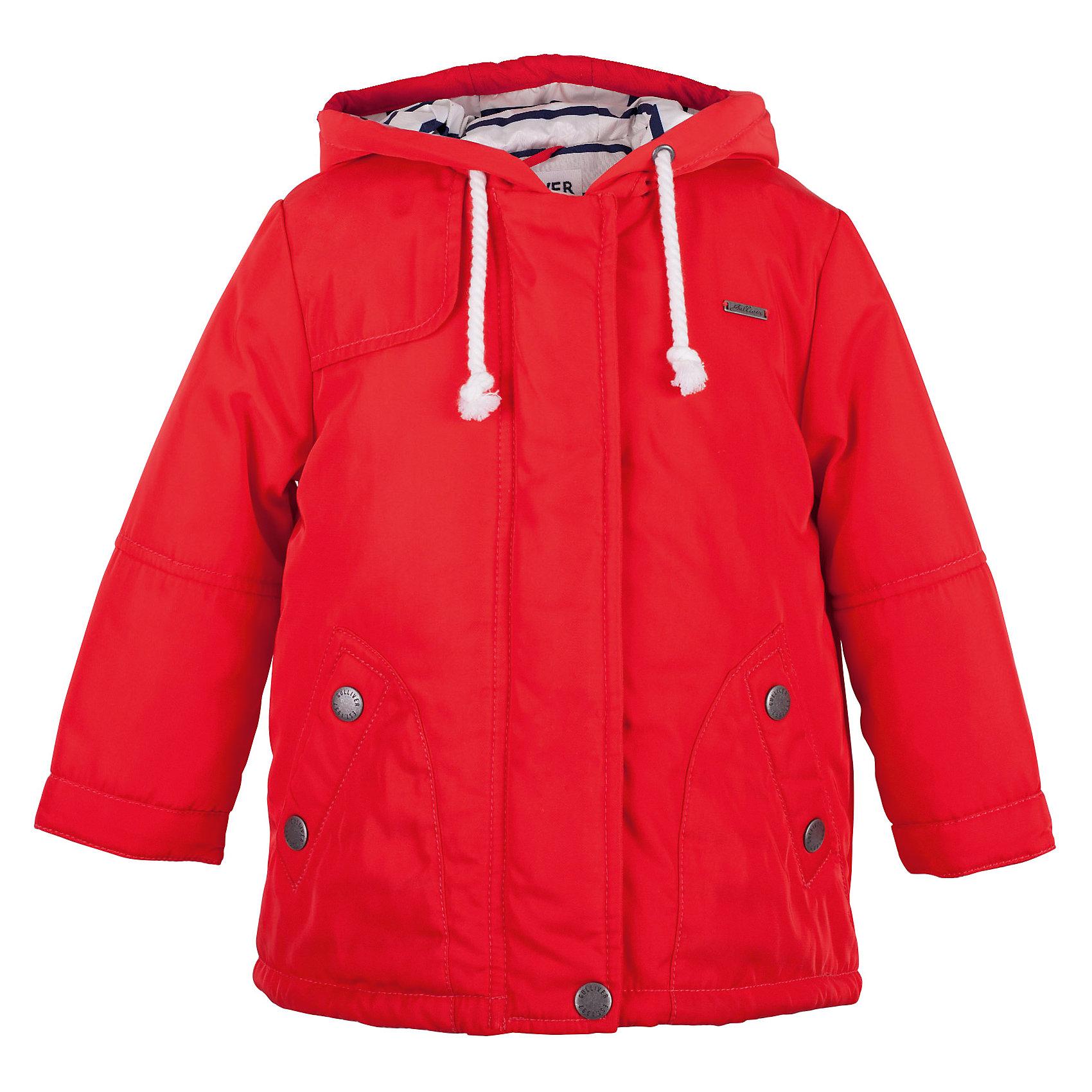 Пальто для девочки GulliverВерхняя одежда<br>Купить детское пальто для весны, значит, позаботиться о комфорте ребенка в период межсезонья, когда уже так хочется одеться легко и ярко, но погода еще бывает весьма обманчива. Коралловое пальто на синтепоне создает настроение, притягивая солнечные лучи и восхищенные взгляды! Удобный крой, продуманные функциональные детали гарантируют комфорт и удобство в повседневной носке. Изюминка этого пальто для девочек - эффектная полосатая подкладка со значительным содержанием хлопка, создающая динамику и выразительный контраст.<br>Состав:<br>верх:  100% полиэстер; подкладка:  50% хлопок  50% полиэстер; утеплитель: 100% полиэстер<br><br>Ширина мм: 356<br>Глубина мм: 10<br>Высота мм: 245<br>Вес г: 519<br>Цвет: розовый<br>Возраст от месяцев: 48<br>Возраст до месяцев: 60<br>Пол: Женский<br>Возраст: Детский<br>Размер: 110,98,104,116<br>SKU: 5483680