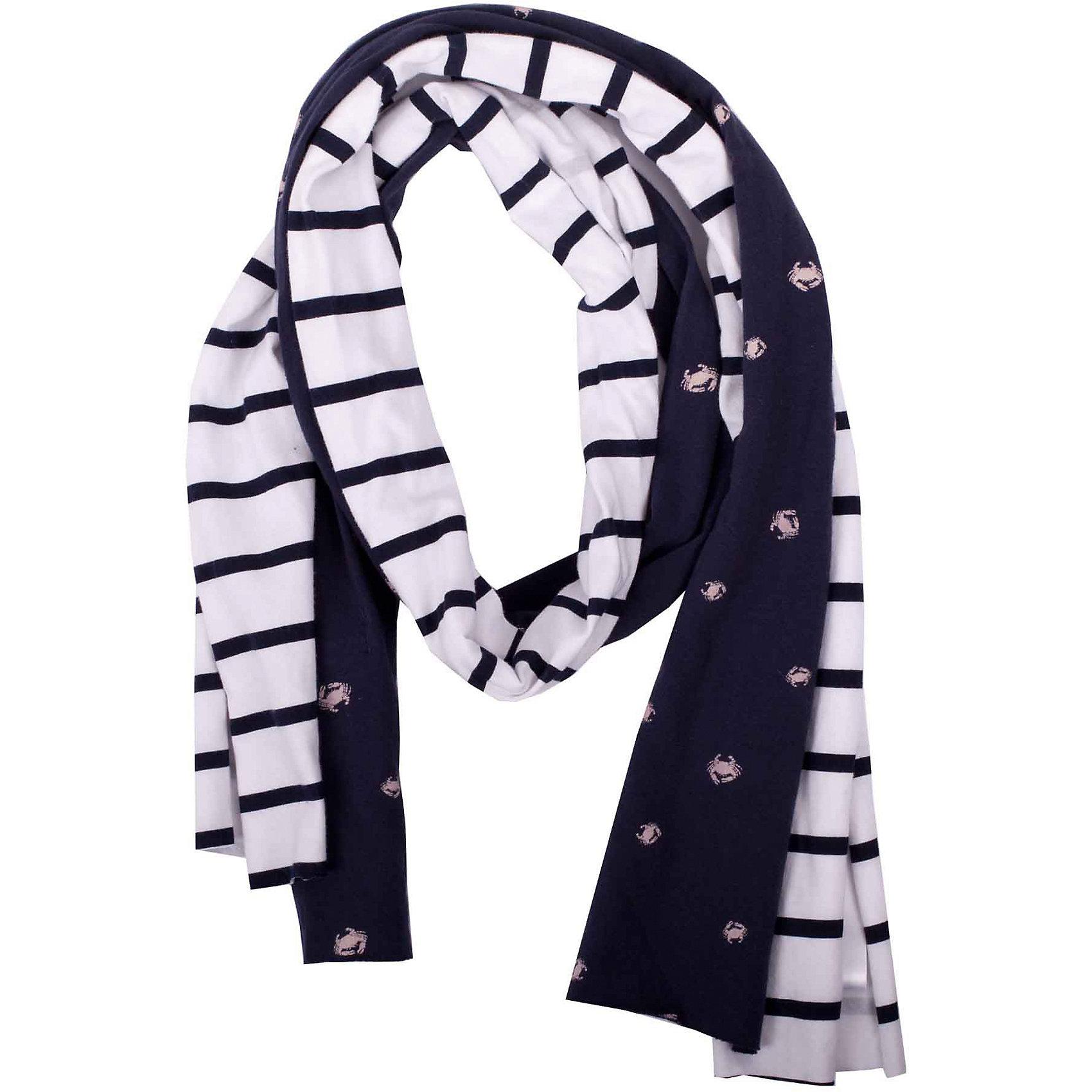 Шарф (2 шт) для девочки GulliverШарфы, платки<br>Замечательный комплект из двух шарфов позволит насладиться возможностью поэкспериментировать. Каждый по отдельности и два вместе идеально дополнят стильный look. Длинные трикотажные полоски можно скрутить жгутом или косичкой, а также сделать мягкие узлы по краям... Если вы любите подчеркнуть стиль и индивидуальность посредством аксессуаров, вам стоит купить комплект из двух интересных шарфов, сделав весенний и летний гардероб ребенка интересным и разнообразным.<br>Состав:<br>95% хлопок      5% эластан<br><br>Ширина мм: 88<br>Глубина мм: 155<br>Высота мм: 26<br>Вес г: 106<br>Цвет: синий<br>Возраст от месяцев: 24<br>Возраст до месяцев: 72<br>Пол: Женский<br>Возраст: Детский<br>Размер: one size<br>SKU: 5483741