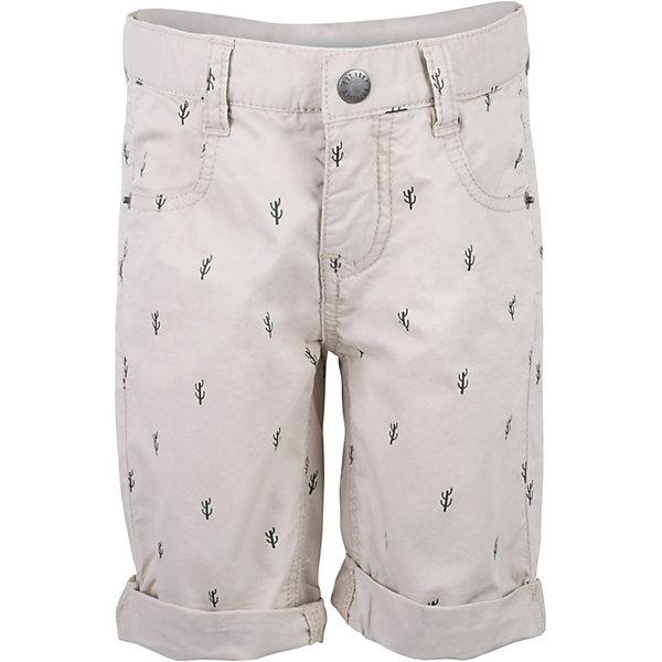 Шорты для мальчика GulliverШорты, бриджи, капри<br>Несмотря на то, что джинсовые шорты по-прежнему занимают в гардеробе ребенка лидирующее место, текстильные шорты для мальчика никто не отменял! Если хочется новизны и разнообразия, оригинальные бежевые шорты помогут создать прекрасный летний look. Модный мелкий рисунок из коллекции Аризона придает модели особый шарм. Бежевый цвет выглядит нарядно, благородно, изысканно! Если вы хотите купить детские шорты, которые подчеркнут стиль и индивидуальность вашего малыша, эти классные шорты для мальчика с фирменной брендированной фурнитурой - лучшее решение для модного лета!<br>Состав:<br>100% хлопок<br>Ширина мм: 191; Глубина мм: 10; Высота мм: 175; Вес г: 273; Цвет: бежевый; Возраст от месяцев: 36; Возраст до месяцев: 48; Пол: Мужской; Возраст: Детский; Размер: 104,98,116,110; SKU: 5483831;