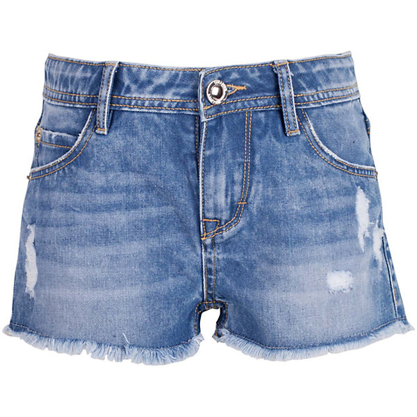 Шорты джинсовые для девочки GulliverШорты, бриджи, капри<br>Джинсовые шорты для девочки - изделие из разряда must have! Во-первых, это стильный удобный элемент гардероба, идеально подходящий к любой футболке, майке, джемперу. Во-вторых, джинсовые шорты очень практичны, а значит, незаменимы для активных игр и долгих прогулок на свежем воздухе. Многие, конечно, уже знакомы со стильными джинсовыми моделями от Gulliver! Модная посадка изделия на фигуре, варка, повреждения, потертости... В сезоне Весна/Лето 2017 у вас снова есть шанс купить шорты от лучшего бренда! Синие джинсовые шорты для девочки - оптимальное решение для яркого и комфортного лета!<br>Состав:<br>100% хлопок<br><br>Ширина мм: 191<br>Глубина мм: 10<br>Высота мм: 175<br>Вес г: 273<br>Цвет: синий<br>Возраст от месяцев: 72<br>Возраст до месяцев: 84<br>Пол: Женский<br>Возраст: Детский<br>Размер: 122,140,134,128<br>SKU: 5484036