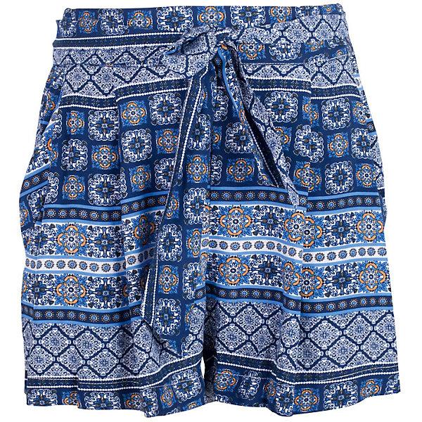 Шорты для девочки GulliverШорты, бриджи, капри<br>Прекрасные текстильные юбка-шорты идеально дополнят летний гардероб юной леди. Для дачного и пляжного отдыха они будут незаменимы. Легкие, удобные, свободные, юбка-шорты для девочек вне времени и вне моды. Стильный мелкий рисунок придает модели динамику, пояс на резинке создает удобство, текстильный пояс, завязывающийся на узел или бант - красивое завершение. Если вы хотите купить шорты на каждый день, но ваш ребенок - романтичная натура, предпочитающая юбки и платья, юбка-шорты - оптимальное решение! Ребенок будет чувствовать себя самим собой и обязательно оценит стиль, комфорт и свободу движений.<br>Состав:<br>100% вискоза<br>Ширина мм: 191; Глубина мм: 10; Высота мм: 175; Вес г: 273; Цвет: белый; Возраст от месяцев: 72; Возраст до месяцев: 84; Пол: Женский; Возраст: Детский; Размер: 122,140,134,128; SKU: 5484041;