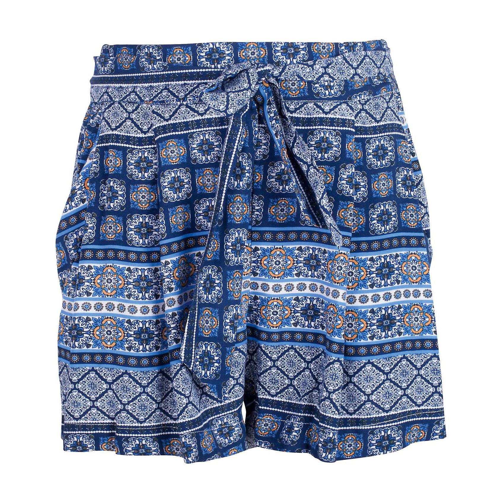 Шорты для девочки GulliverПрекрасные текстильные юбка-шорты идеально дополнят летний гардероб юной леди. Для дачного и пляжного отдыха они будут незаменимы. Легкие, удобные, свободные, юбка-шорты для девочек вне времени и вне моды. Стильный мелкий рисунок придает модели динамику, пояс на резинке создает удобство, текстильный пояс, завязывающийся на узел или бант - красивое завершение. Если вы хотите купить шорты на каждый день, но ваш ребенок - романтичная натура, предпочитающая юбки и платья, юбка-шорты - оптимальное решение! Ребенок будет чувствовать себя самим собой и обязательно оценит стиль, комфорт и свободу движений.<br>Состав:<br>100% вискоза<br><br>Ширина мм: 191<br>Глубина мм: 10<br>Высота мм: 175<br>Вес г: 273<br>Цвет: разноцветный<br>Возраст от месяцев: 108<br>Возраст до месяцев: 120<br>Пол: Женский<br>Возраст: Детский<br>Размер: 140,122,128,134<br>SKU: 5484041