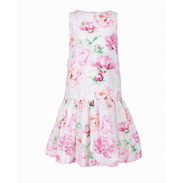 Платье для девочки GulliverЛетние платья и сарафаны<br>Ох уж, эти модницы... Их летний гардероб пестрит нарядами, но разве можно пройти мимо нового платья в цветочек? Простой удобный крой с лихвой компенсируется оригинальным дизайном ткани. Крупный цветочный рисунок, созданный в благородных пастельных тонах, выглядит интересно и привлекательно. Платье на тонкой хлопковой подкладке очень комфортно и приятно к телу. Если вы хотите купить платье для девочки, чтобы освежить гардероб ребенка, сделав его ярким, практичным и позитивным, эта модель - лучшее решение для каждого дня жаркого лета!<br>Состав:<br>верх:                100% хлопок; подкладка:                      100% хлопок<br>Ширина мм: 236; Глубина мм: 16; Высота мм: 184; Вес г: 177; Цвет: белый; Возраст от месяцев: 72; Возраст до месяцев: 84; Пол: Женский; Возраст: Детский; Размер: 122,140,134,128; SKU: 5484123;