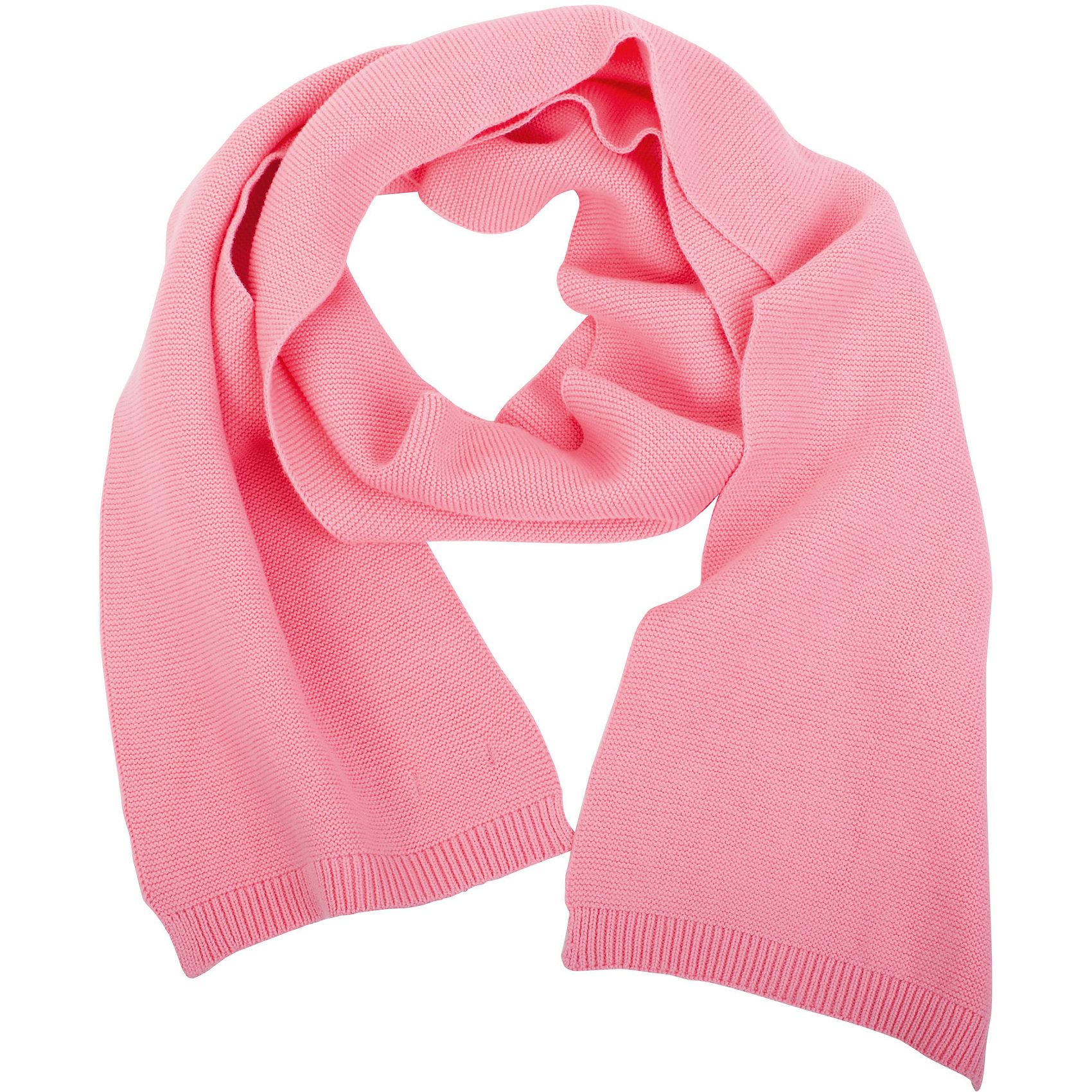 Шарф для девочки GulliverШарфы, платки<br>Стильный вязаный шарф - важный элемент повседневного образа. Он защитит юную модницу от весенней прохлады, а также придаст образу элегантную небрежность. Вы решили купить модный шарф для девочки? Розовый вязаный шарф из коллекции Цветные истории - прекрасный выбор!<br>Состав:<br>100% хлопок<br><br>Ширина мм: 88<br>Глубина мм: 155<br>Высота мм: 26<br>Вес г: 106<br>Цвет: розовый<br>Возраст от месяцев: 84<br>Возраст до месяцев: 120<br>Пол: Женский<br>Возраст: Детский<br>Размер: one size<br>SKU: 5484159