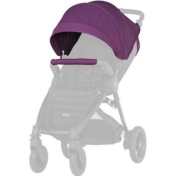 Капор для коляски B-Agile/ B-Motion 4 Plus, Britax, Mineral LilacАксессуары для колясок<br>Капор с большим козырьком для прогулок в любую погоду. Совместима с: B-AGILE 4 PLUS, B-MOTION 4 PLUS.  обеспечит дополнительную защиту от ветра, дождя, снега или солнца. Большой выбор расцветок на выбор. Легко и просто устанавливается на коляску. Вес капора: 1 кг<br>Ширина мм: 440; Глубина мм: 510; Высота мм: 100; Вес г: 1300; Цвет: лиловый; Возраст от месяцев: 0; Возраст до месяцев: 48; Пол: Унисекс; Возраст: Детский; SKU: 5484728;