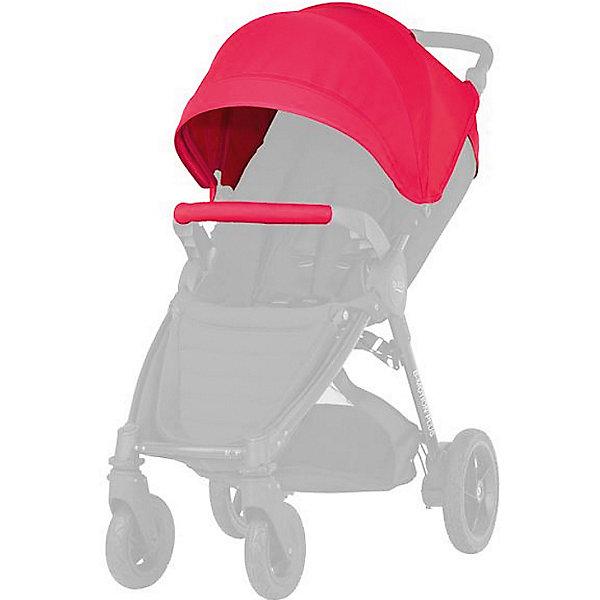Капор для коляски B-Agile/ B-Motion 4 Plus, Britax, Rose PinkАксессуары для колясок<br>Капор с большим козырьком для прогулок в любую погоду. Совместима с: B-AGILE 4 PLUS, B-MOTION 4 PLUS.  обеспечит дополнительную защиту от ветра, дождя, снега или солнца. Большой выбор расцветок на выбор. Легко и просто устанавливается на коляску. Вес капора: 1 кг<br>Ширина мм: 440; Глубина мм: 510; Высота мм: 100; Вес г: 1300; Возраст от месяцев: 0; Возраст до месяцев: 48; Пол: Унисекс; Возраст: Детский; SKU: 5484730;