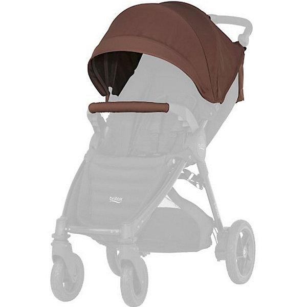 Капор для коляски B-Agile/ B-Motion 4 Plus, Britax, Wood BrownАксессуары для колясок<br>Капор с большим козырьком для прогулок в любую погоду. Совместима с: B-AGILE 4 PLUS, B-MOTION 4 PLUS.  обеспечит дополнительную защиту от ветра, дождя, снега или солнца. Большой выбор расцветок на выбор. Легко и просто устанавливается на коляску. Вес капора: 1 кг<br>Ширина мм: 440; Глубина мм: 510; Высота мм: 100; Вес г: 1300; Цвет: коричневый; Возраст от месяцев: 0; Возраст до месяцев: 48; Пол: Унисекс; Возраст: Детский; SKU: 5484732;