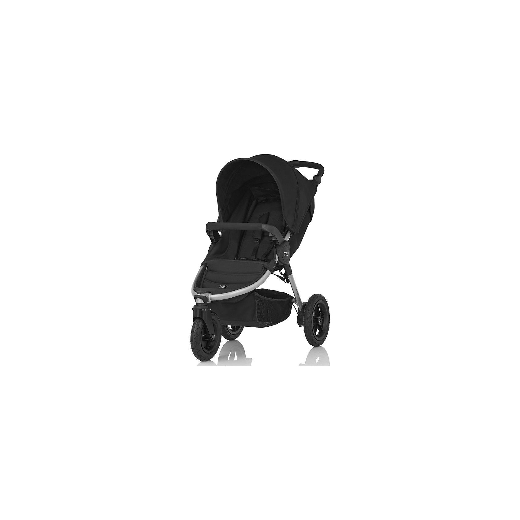 Прогулочная коляска Britax B-Motion 3, Cosmos BlackПрогулочные коляски<br>B-Motion 3 - это легкая и прочная коляска, складывающаяся буквально одним движением руки. Благодаря износостойким надувным шинам коляска покажет отличную проходимость на любой дороге! А с помощью адаптеров CLICK &amp; GO® легко и просто установить автолюльку Baby-Safe Sleeper или автопереноски Baby-Safe непосредственно на шасси коляски B-Motion 3. <br>Особенности: <br>Для детей с рождения до 15 кг<br>Легкая алюминиевая рама<br>Простое и компактное складывание с автоматической фиксацией<br>Регулируемая ручка<br>Компактный размер в сложенном состоянии (35х58х70 см).<br>Амортизаторы на задних колесах.<br>5-точечные ремни безопасности.<br>Поворотное переднее колесо с возможностью фиксации.<br>Большие надувные колеса, износостойкие покрышки.<br>Большая корзина для покупок.<br>Возможна дополнительная установка люльки в качестве опции.<br>Комплектация: прогулочный блок, бампер, переходники CLICK &amp; GO® для спального блока и автолюлек Britax R?mer.<br>Гарантия на коляску - 2 года.<br><br>Ширина мм: 800<br>Глубина мм: 480<br>Высота мм: 310<br>Вес г: 13700<br>Возраст от месяцев: 0<br>Возраст до месяцев: 48<br>Пол: Унисекс<br>Возраст: Детский<br>SKU: 5484738