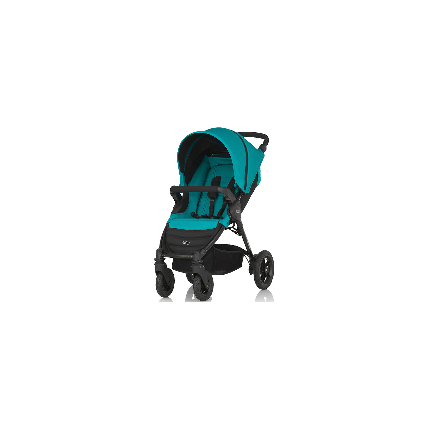 Прогулочная коляска Britax B-Motion 4, Lagoon GreenПрогулочные коляски<br>Коляска Britax B-Motion - это 4-колесная городская система Travel System с уникальной системой сложения коляски одной рукой - просто нажмите фиксатор и потяните ремень! <br>Легкая и маневренная коляска имеет легкий алюминиевый каркас и прочные покрышки, что дает максимальную свободу, куда бы вы ни отправились. Спинка, раскладывающаяся в горизонтальное положение, бампер для ребенка, капор с встроенной москитной сеткой сделает прогулку с малышом удобной и комфортной. <br>Коляски B-Motion также совместимы с автолюлькой Baby-Safe Sleeper и автопереносками Baby-Safe. <br>Подходит с рождения и до 15 кг<br>Легкая алюминиевая рама<br>Простое и компактное складывание с автоматической фиксацией<br>Регулируемая ручка<br>Амортизаторы на задних колесах<br>5-точечные ремни безопасности<br>Блокируемые или поворотные передние колеса<br>Износостойкие покрышки<br>Большая корзина для покупок<br>Возможна дополнительная установка люльки в качестве опции<br>Гарантия на коляску Britax B-Motion - 2 года.<br>Комплектация: прогулочный блок, поручень, переходники для Baby Safe plus<br><br>Ширина мм: 780<br>Глубина мм: 470<br>Высота мм: 230<br>Вес г: 14000<br>Возраст от месяцев: 0<br>Возраст до месяцев: 48<br>Пол: Унисекс<br>Возраст: Детский<br>SKU: 5484742