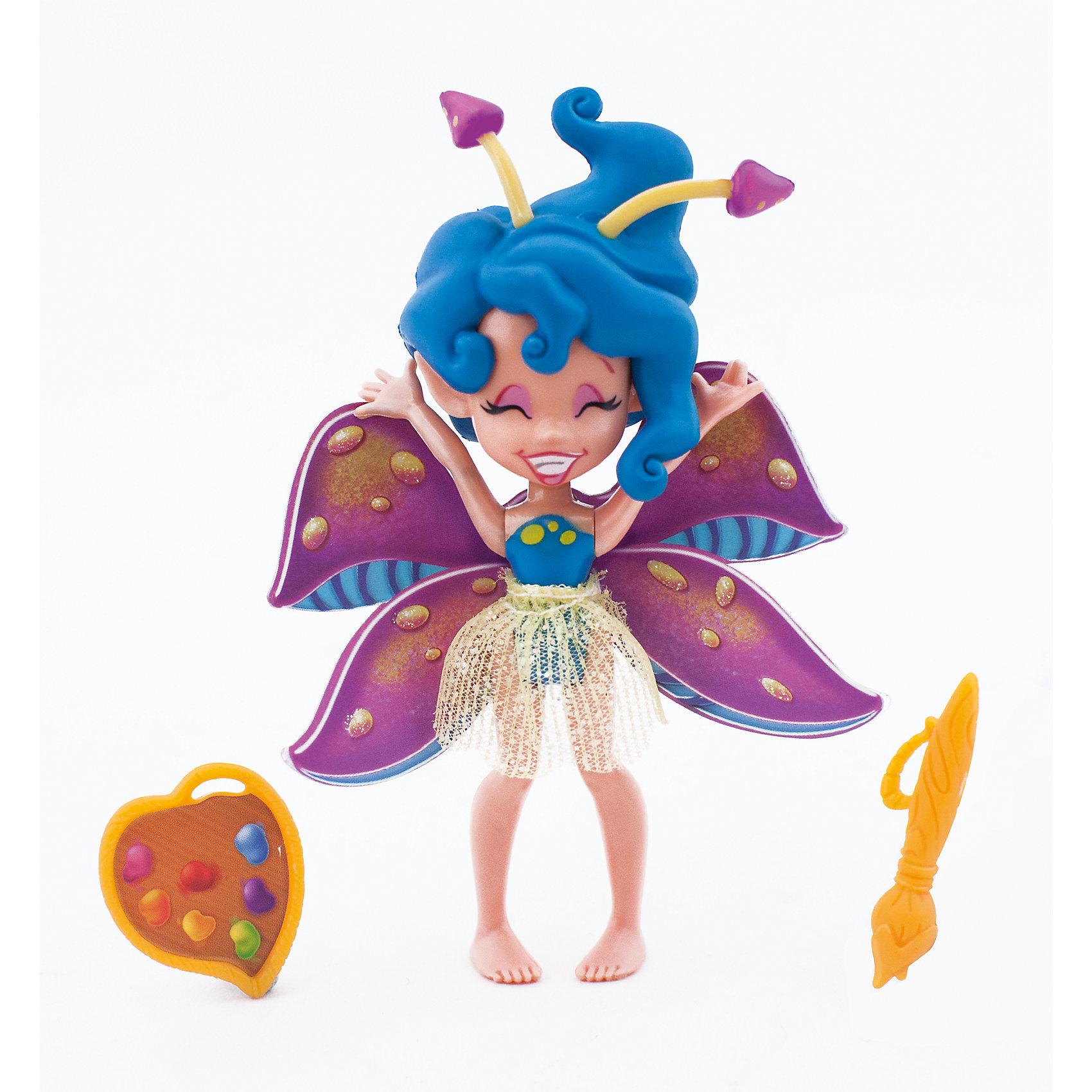 Фея Утреннего Леса Спора, LanardМини-куклы<br>Милая Фея- девочка c характерной внешностью, ярко декорированными крыльями, в прозрачной юбочке. Голова, ручки и ножки двигаются. В наборе тематические аксессуары: кисточка и краски.<br><br>Ширина мм: 127<br>Глубина мм: 381<br>Высота мм: 190<br>Вес г: 69<br>Возраст от месяцев: 36<br>Возраст до месяцев: 2147483647<br>Пол: Женский<br>Возраст: Детский<br>SKU: 5485118