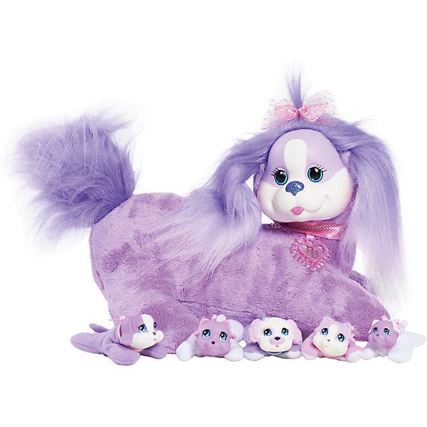 Собачка Кэнди и ее щенки, Just PlayИнтерактивные животные<br>Характеристики товара:<br><br>• возраст: от 3 лет;<br>• материал: плюш;<br>• в комплекте: собака, щенки;<br>• размер упаковки: 36х29х17 см;<br>• вес упаковки: 640 гр.;<br>• страна производитель: Китай.<br><br>Собачка Кэнди и ее щенки Just Play станет для девочки любимым домашним питомцем. Кэнди готовится стать мамой, у нее вот-вот родятся щеночки. Сколько щеночков родится у Кэнди? А это станет для девочки сюрпризом. Их может быть 3, а может и больше. Все щенки такие разные и очаровательные. А один из них даже умеет лаять.<br><br>Собачку Кэнди и ее щенков Just Play можно приобрести в нашем интернет-магазине.<br><br>Ширина мм: 360<br>Глубина мм: 160<br>Высота мм: 320<br>Вес г: 880<br>Возраст от месяцев: 36<br>Возраст до месяцев: 2147483647<br>Пол: Женский<br>Возраст: Детский<br>SKU: 5485130