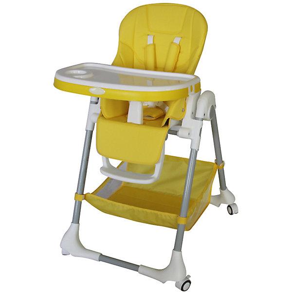 Стульчик для кормления, Aricare, YellowСтульчики для кормления<br>Характеристики детского стульчика для кормления Aricare:<br><br>• регулируемая высота сиденья стульчика: 7 положений, высота от пола 27-64 см;<br>• регулируемый угол наклона спинки стульчика, 5 положений;<br>• регулируемая подножка, 3 положения;<br>• регулируемая глубина столешницы, 3 положения;<br>• столешница двойная, съемная;<br>• внутренние ремни безопасности – 5-ти точечные с плечевыми накладками;<br>• защита от соскальзывания;<br>• стульчик оснащен колесиками со стопорами, 4 шт.;<br>• обивка съемная, чистка влажной тряпкой;<br>• компактное складывание, устойчивость в сложенном виде;<br>• стульчик складывается вместе со столешницей;<br>• материал: пластик, кожзам, полиэстер.<br><br>Максимальный вес ребенка: до 25 кг<br>Высота стульчика: 84-105 см<br>Ширина по колесикам: 57х72 см<br>Размер столешницы: 63х30 см<br>Ширина сиденья: 27 см<br>Глубина сиденья: 23 см<br>Высота спинки: 47 см<br>Длина подножки: 15 см<br>Размер стульчика в сложенном виде: 84х30 см<br>Размер упаковки: 60х26,5х85,5 см<br>Вес: 10,4 кг<br><br>Сертификат международного образца SGS EN1888<br>Сертификат Таможенного Союза<br><br>Стульчик для кормления, Aricare, Yellow можно купить в нашем интернет-магазине.<br>Ширина мм: 600; Глубина мм: 265; Высота мм: 855; Вес г: 10400; Возраст от месяцев: 6; Возраст до месяцев: 48; Пол: Унисекс; Возраст: Детский; SKU: 5485154;